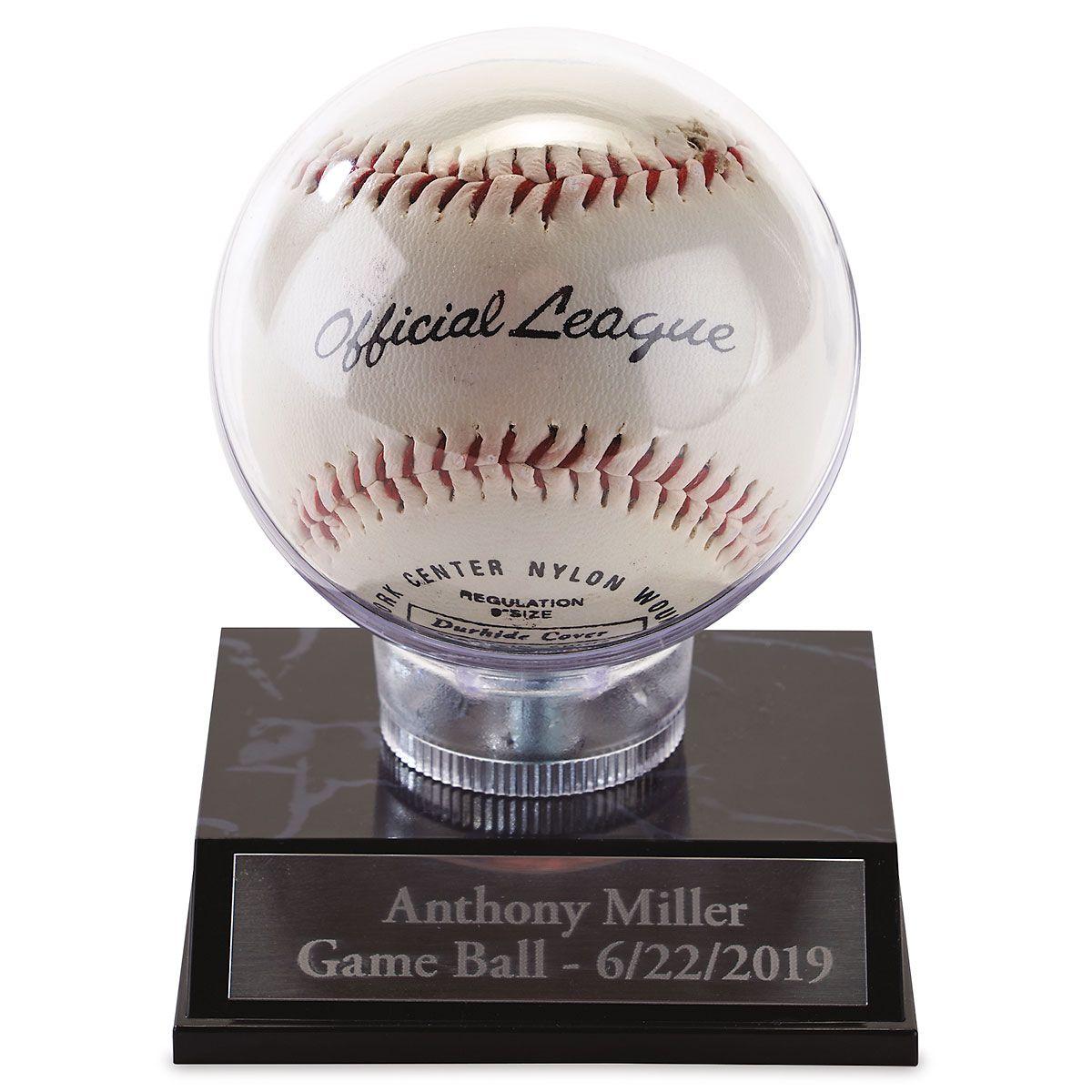 Personalized Baseball Holder