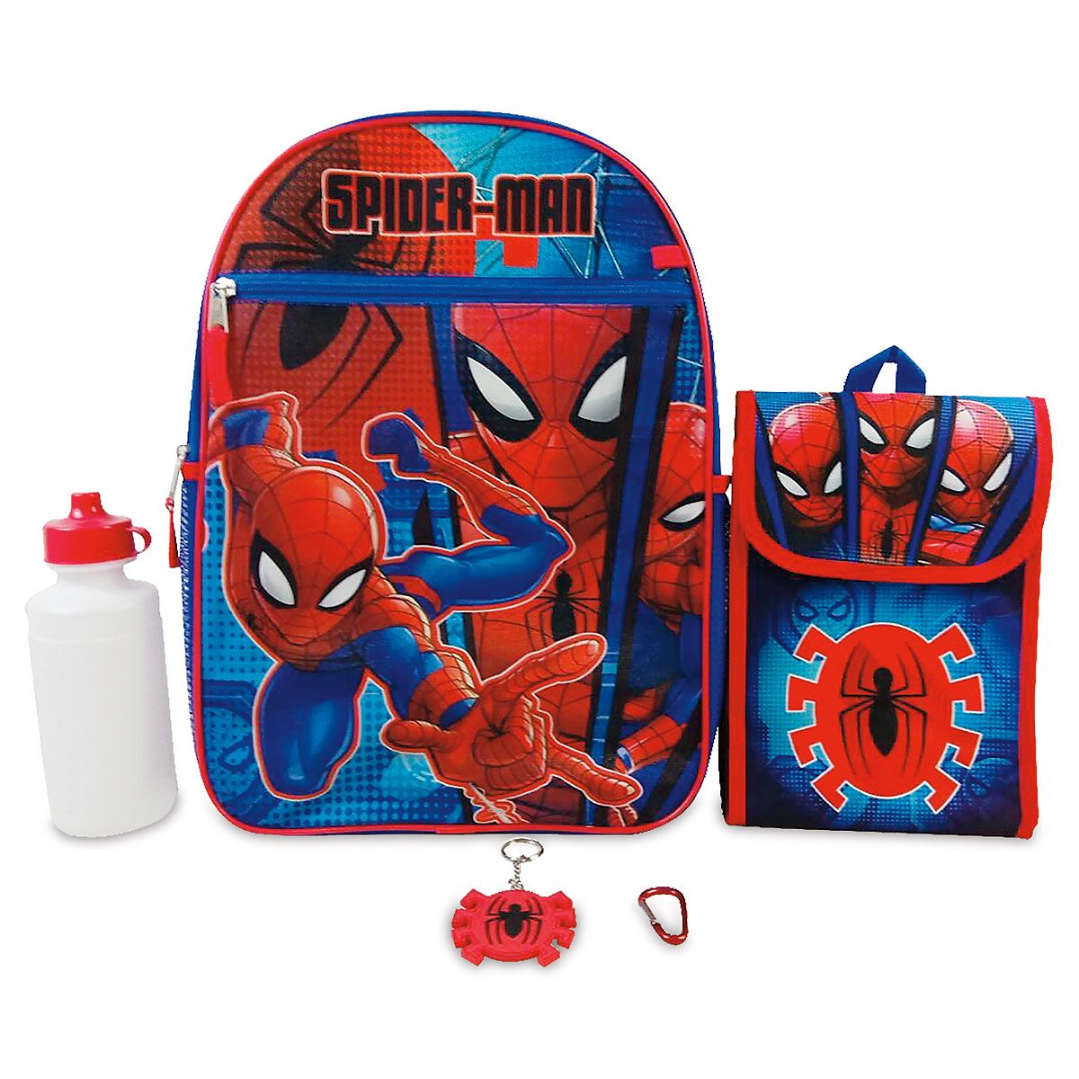 Personalized Spiderman 5 in 1 Backpack