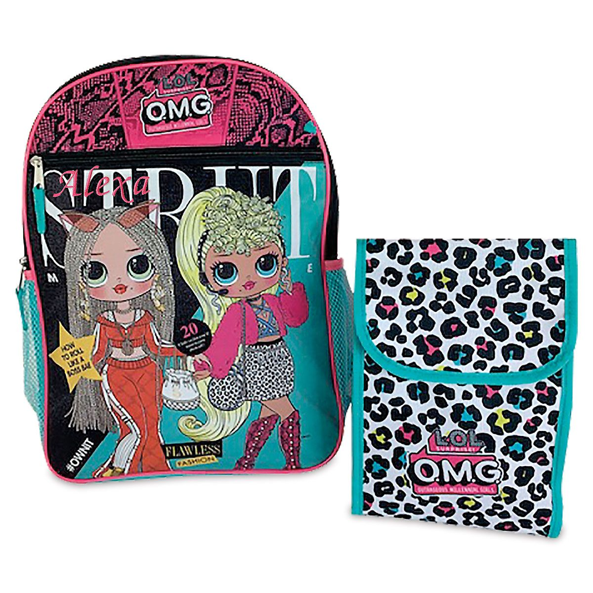 Personalized 5 in 1 LOL Dolls Backpack
