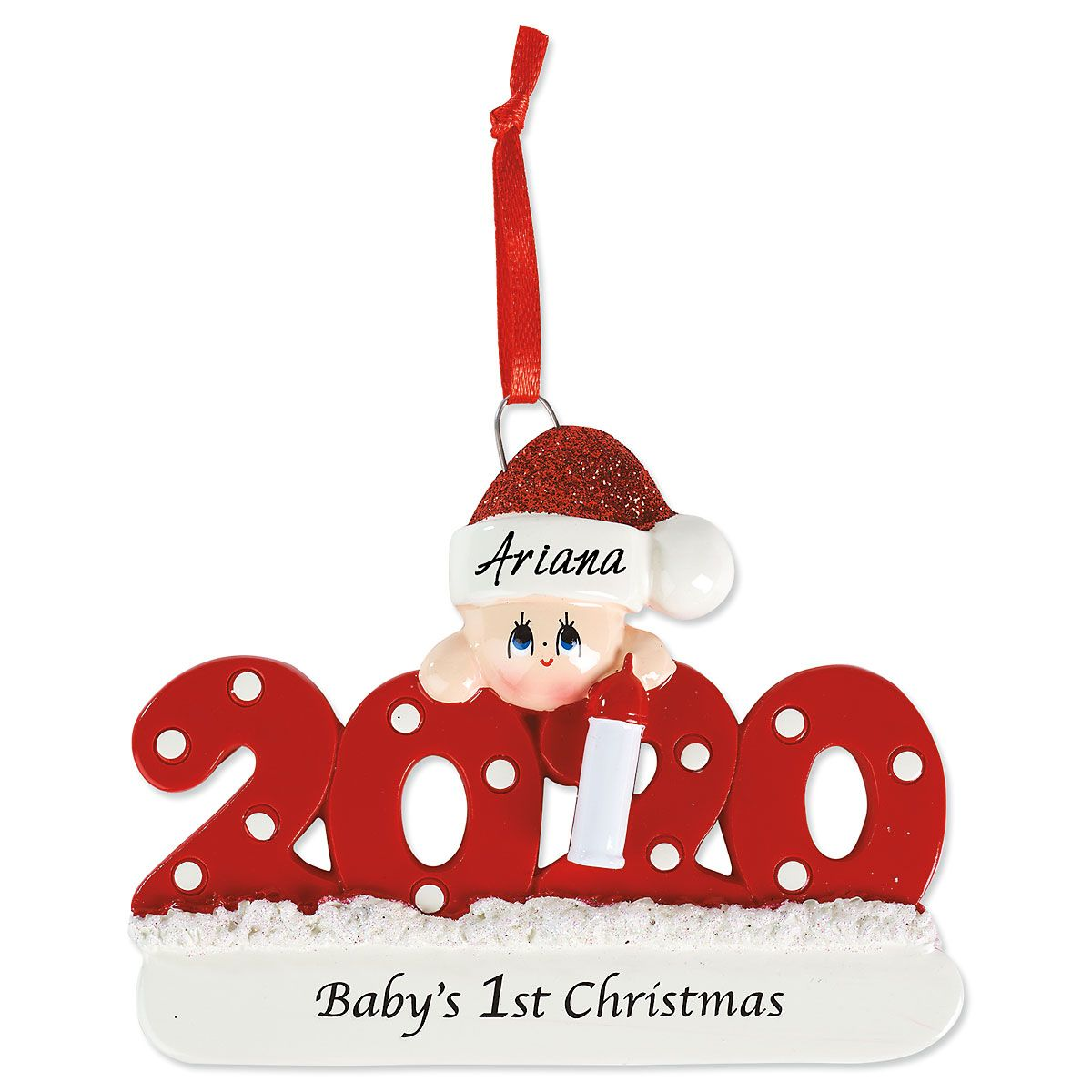 2020 Baby's First Christmas Ornament