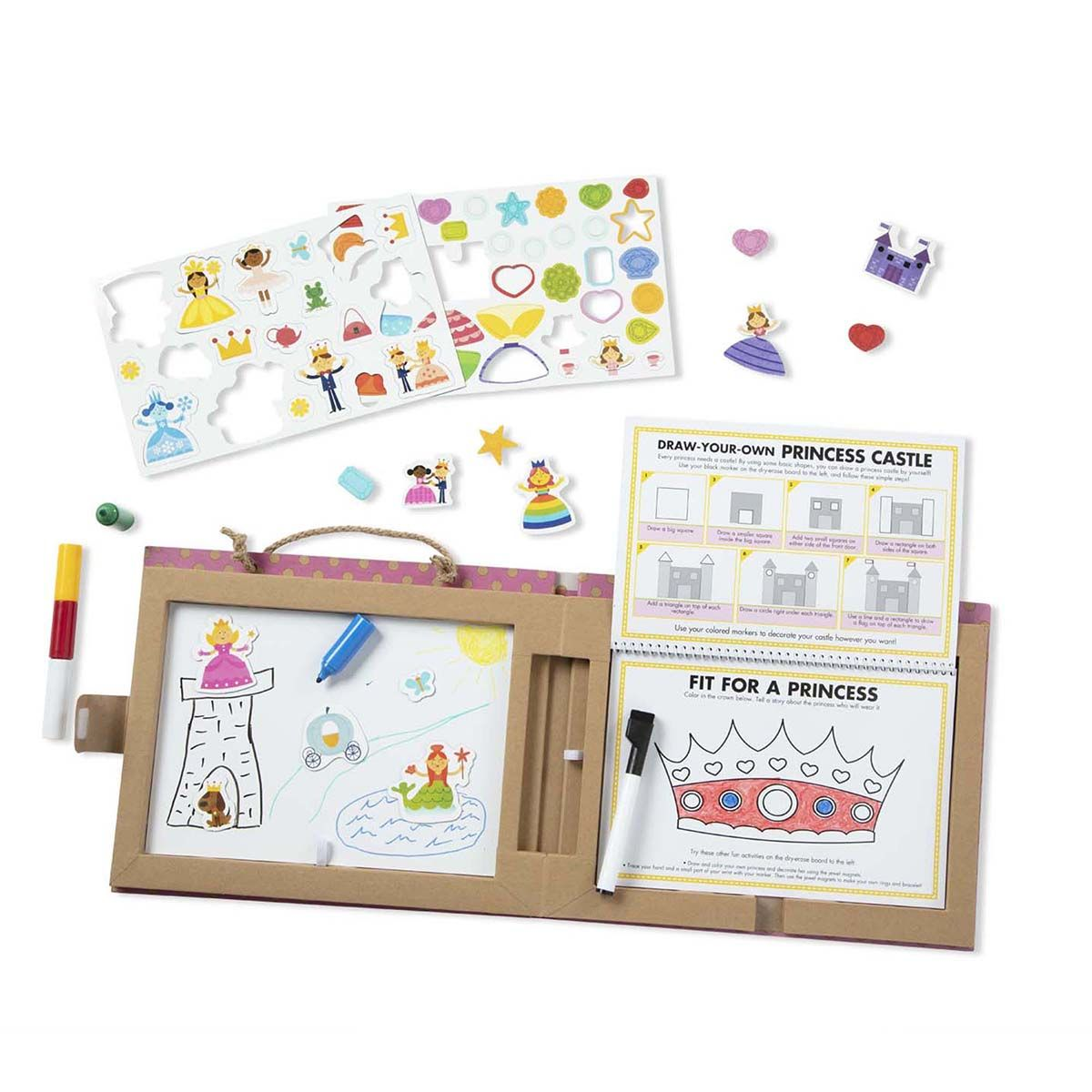 Personalized Draw, Create, and Play Princess