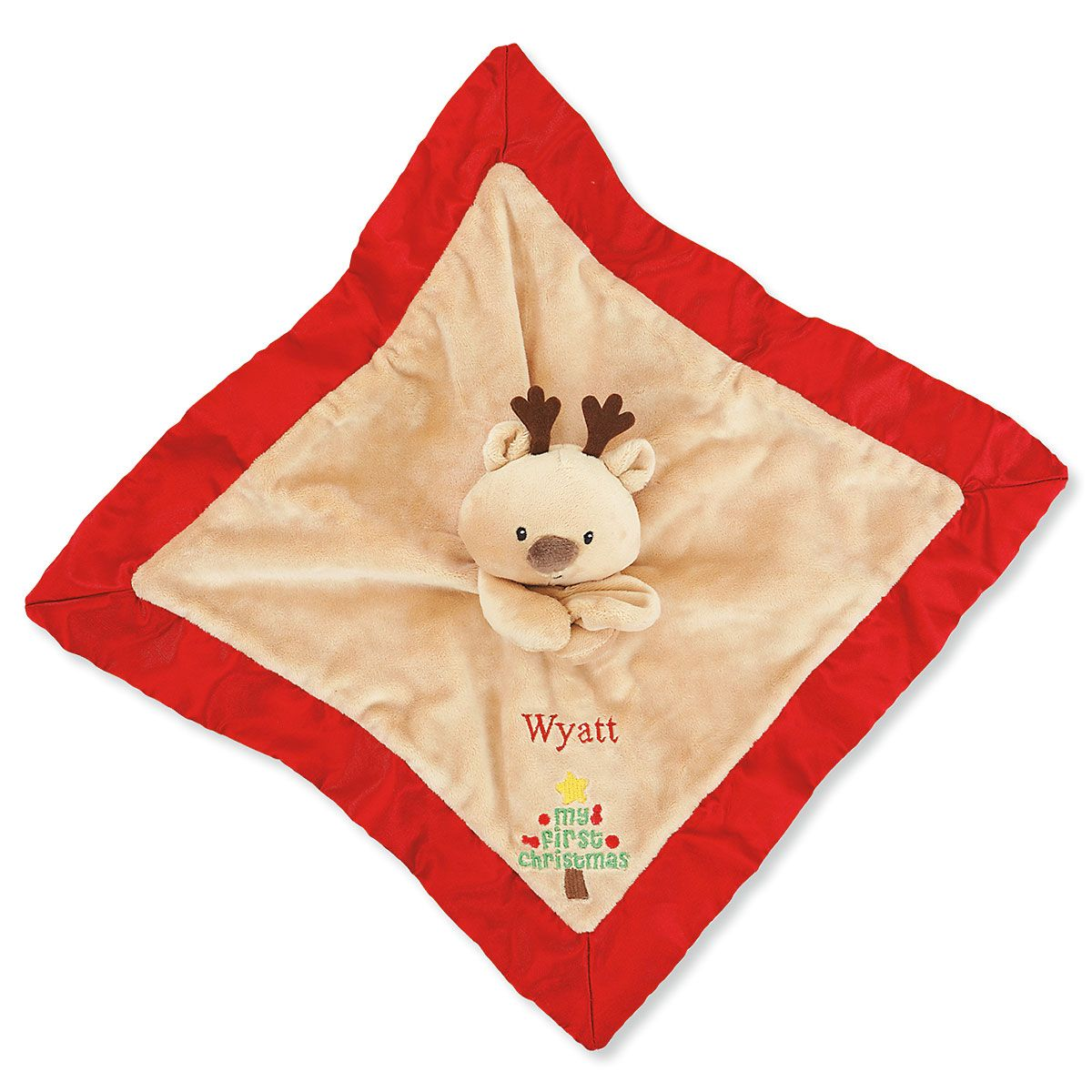 Personalized Gund® My First Christmas Reindeer Lovey