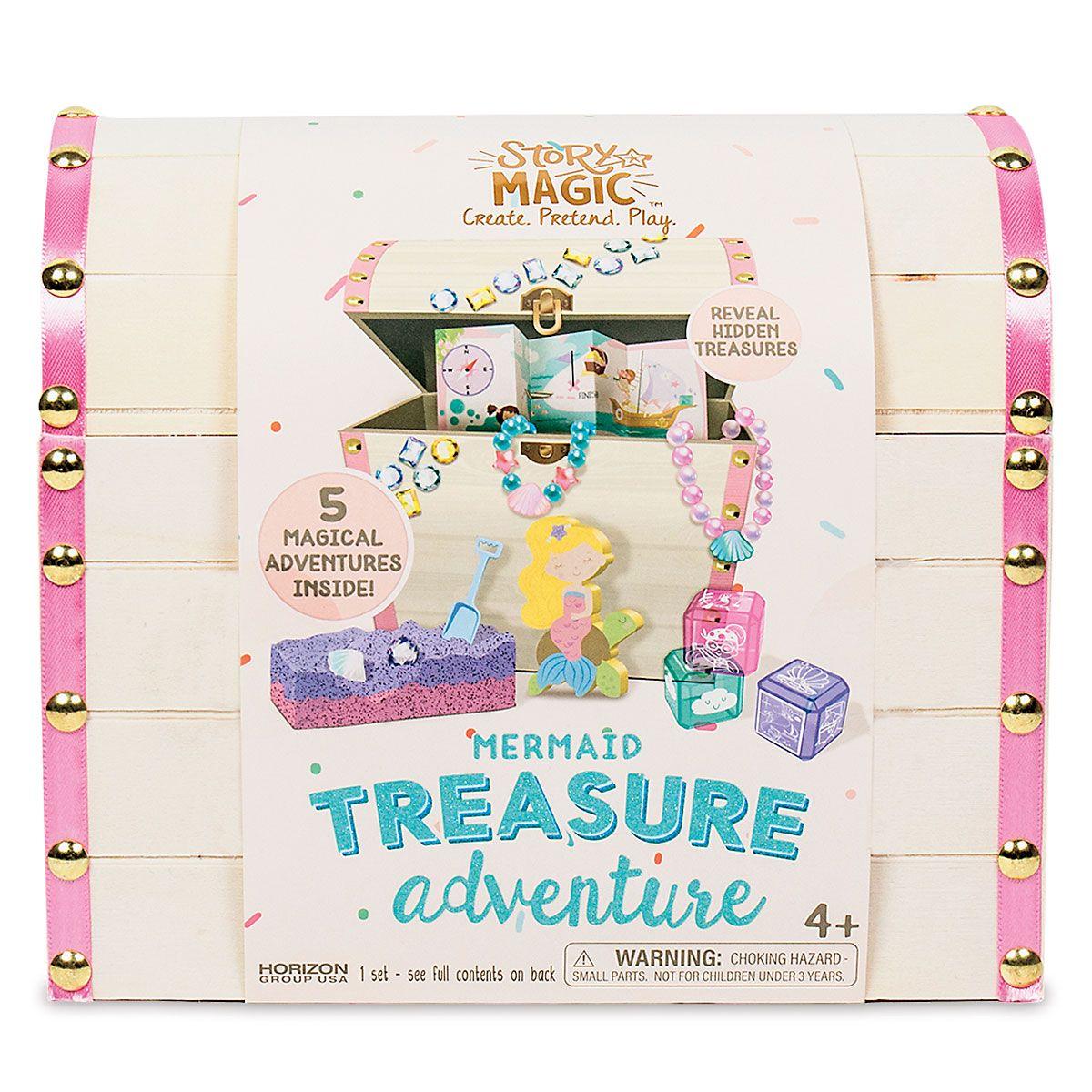 Personalized Mermaid Treasure Adventure