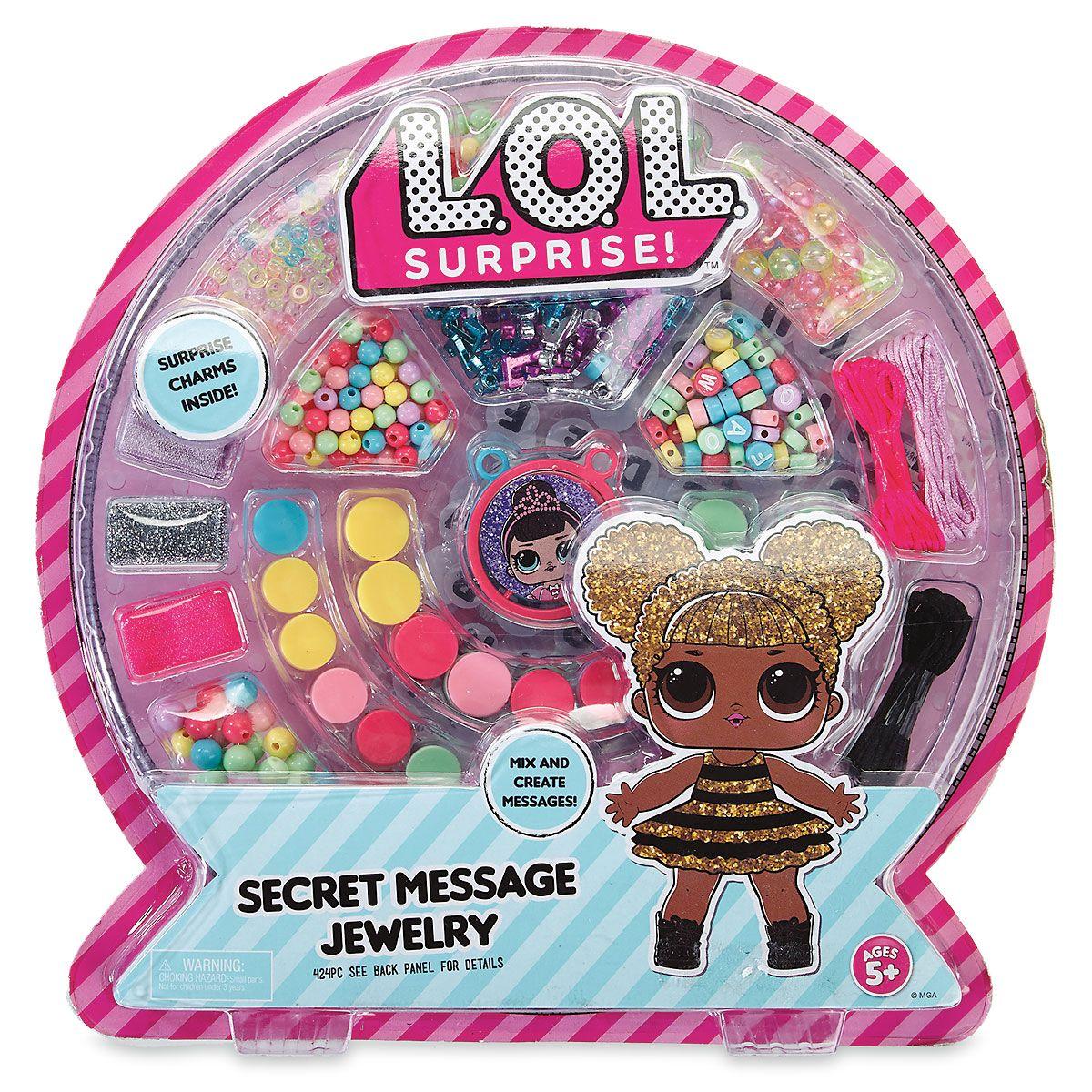 LOL Surprise! Secret Message Jewelry