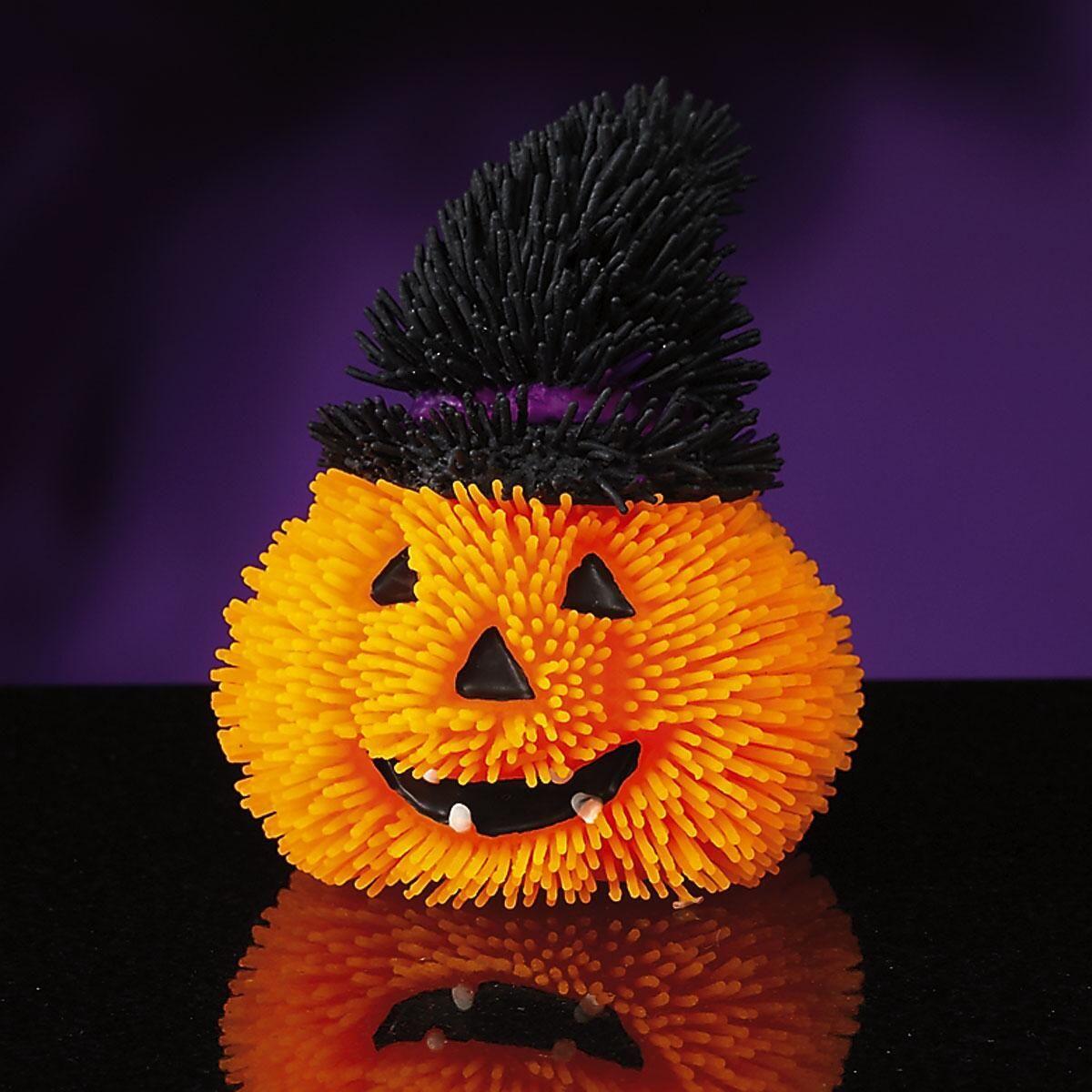 Halloween Pumpkin Puffer Ball