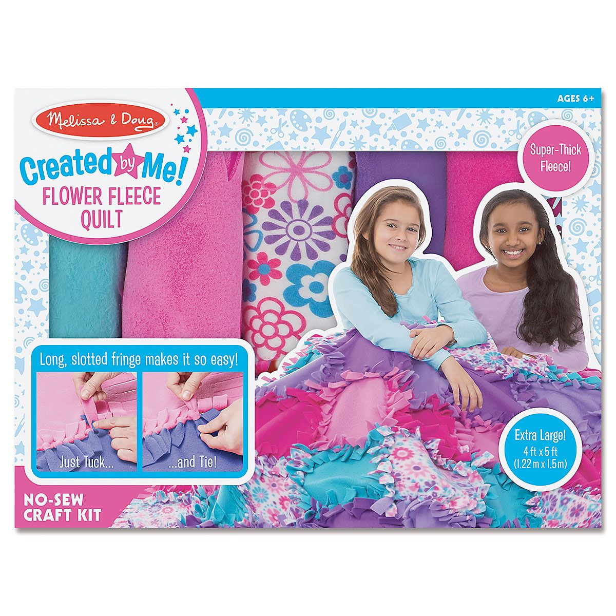 Flower Fleece Quilt-Making Set by Melissa & Doug®