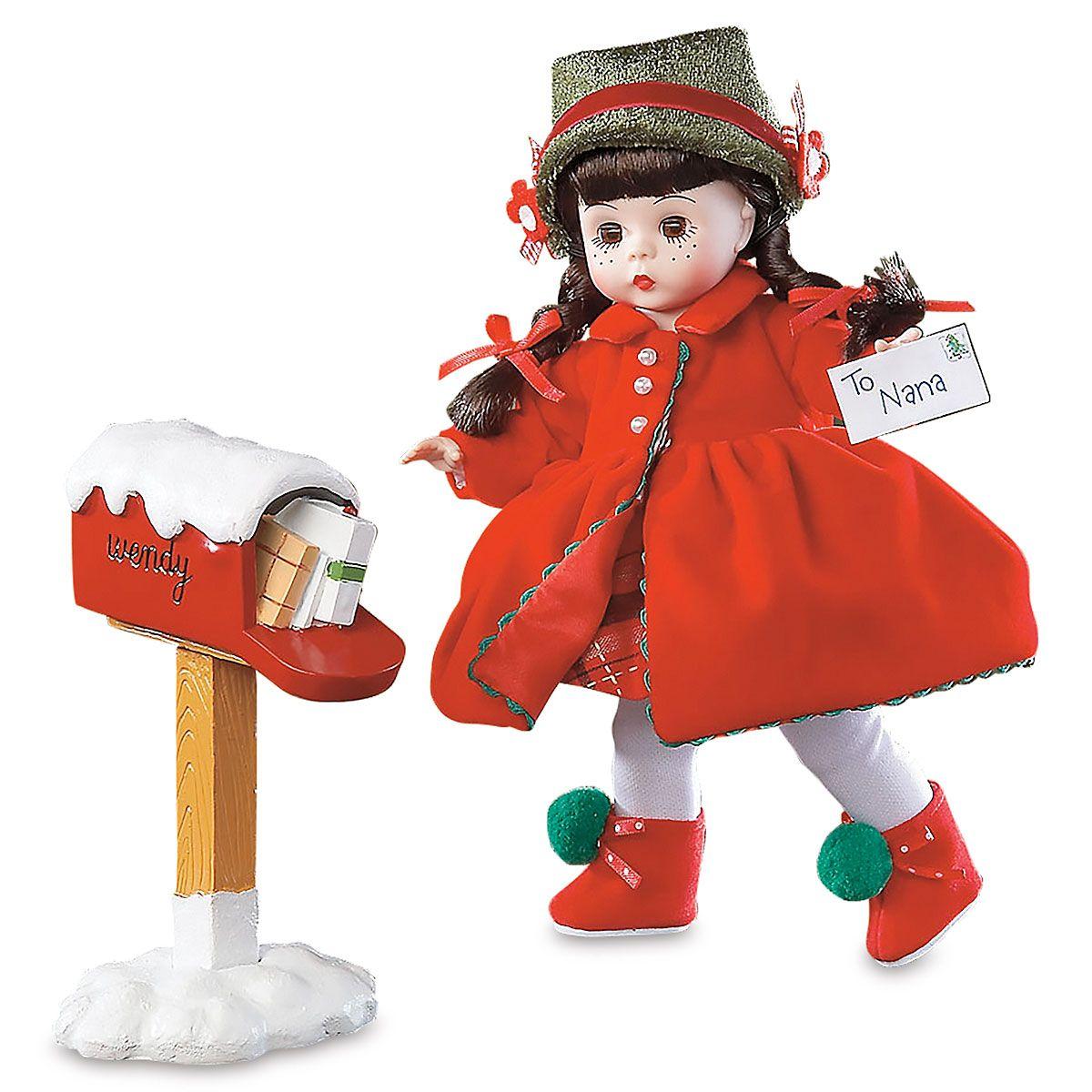 Madame Alexander® 2010 Sending Christmas Cheer Doll