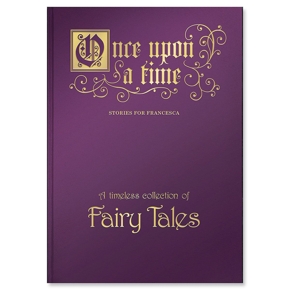 Once Upon a Time Fairy Tales Personalized Storybook