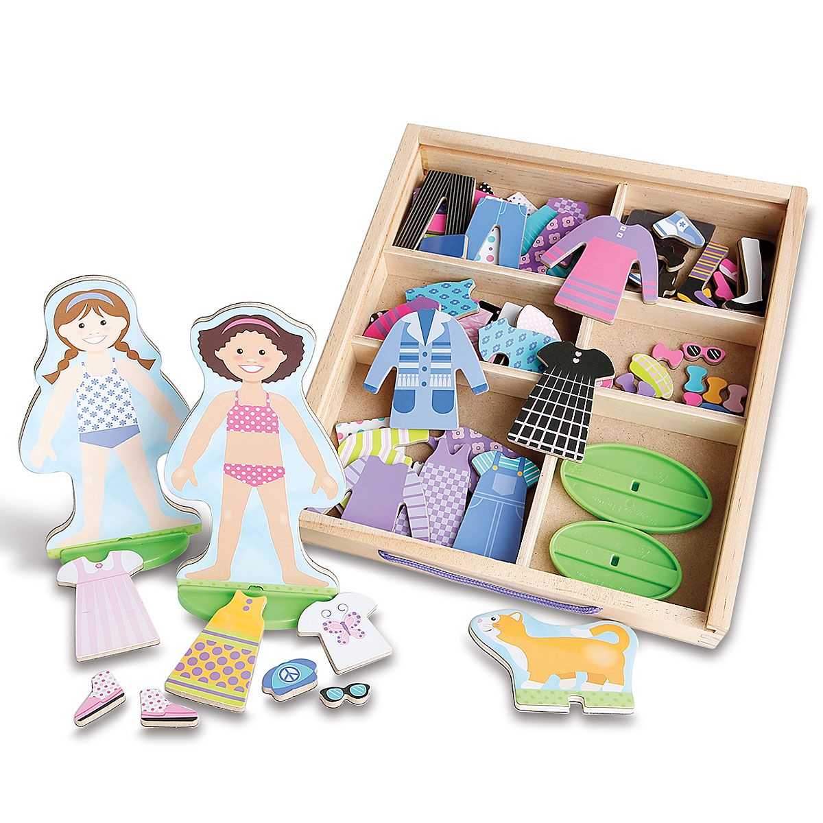Best Friends Magnetic Dress-Up Play Set by Melissa & Doug®