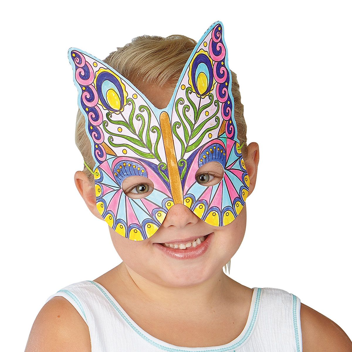 Butterflies Make-a-Mask