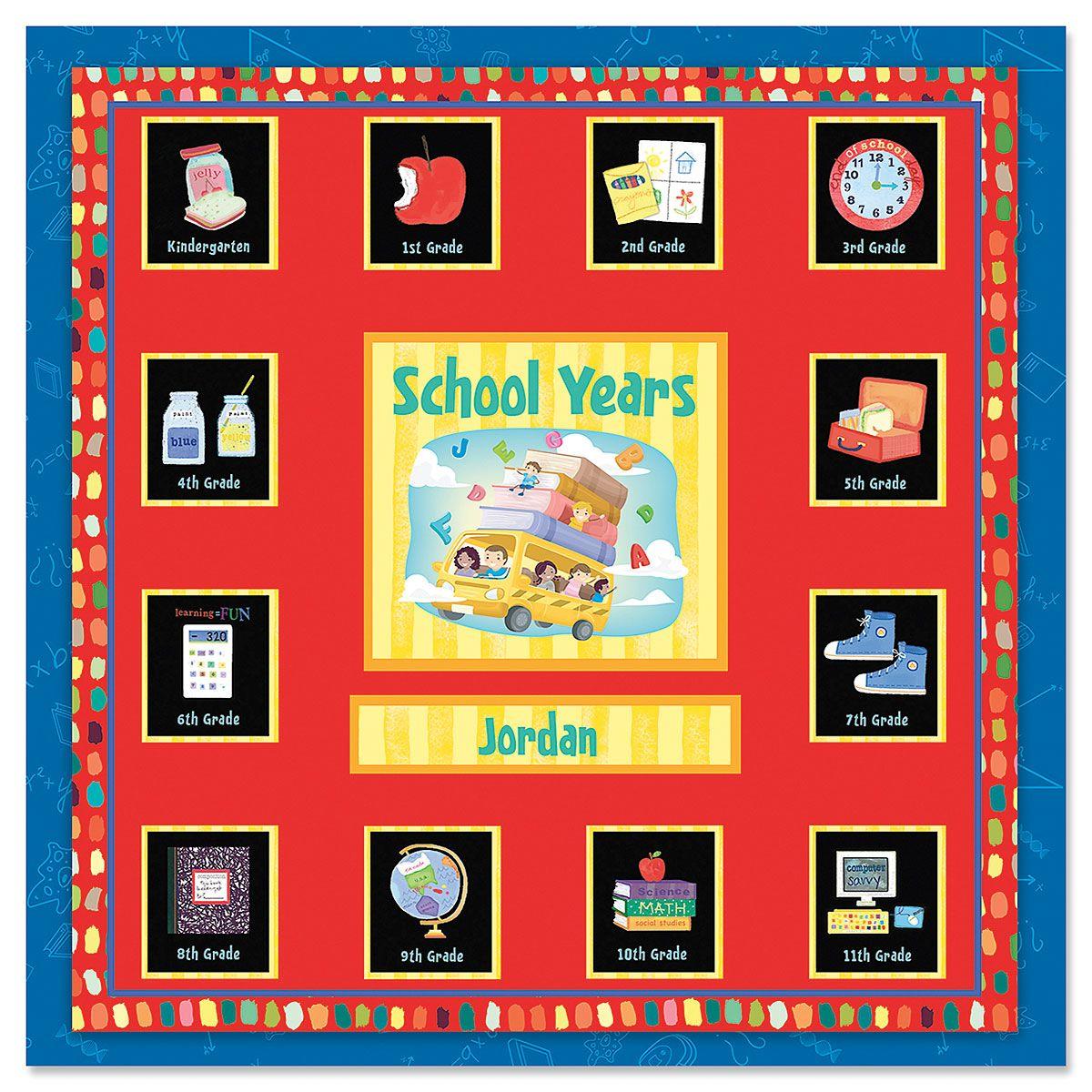School Years Memory Album