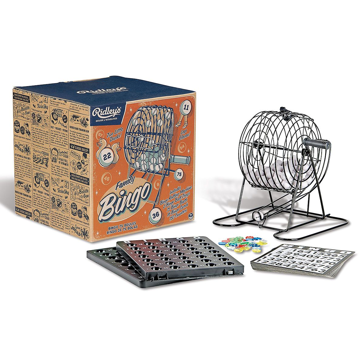 Family Bingo Game Kit by Ridley's®