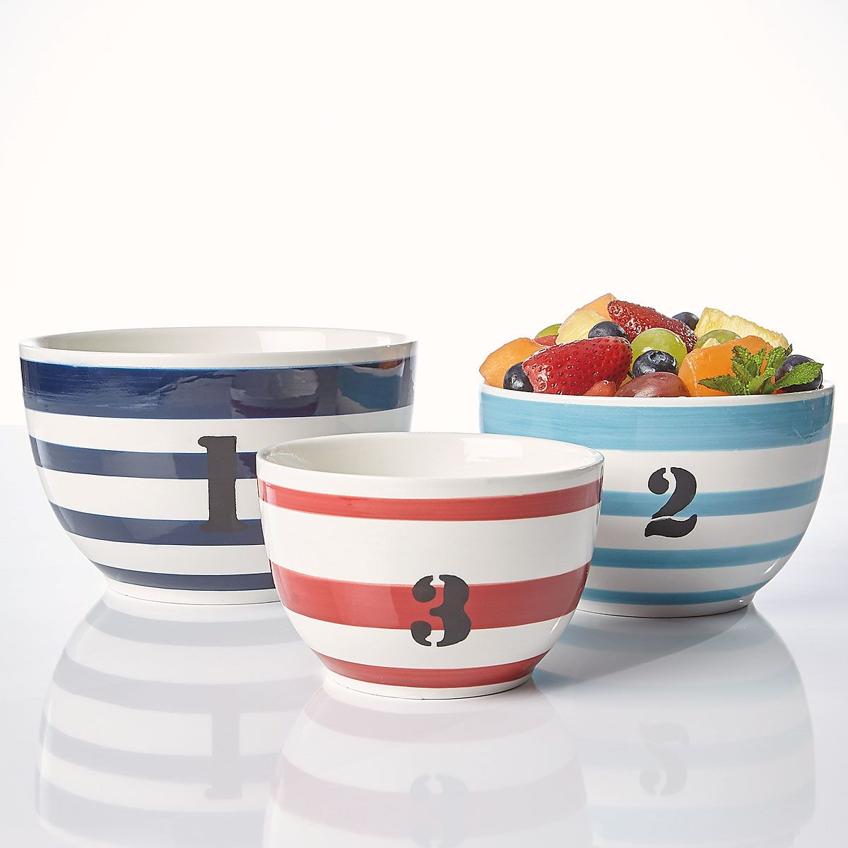Nautical Nesting Bowls from Ahoy Buoy