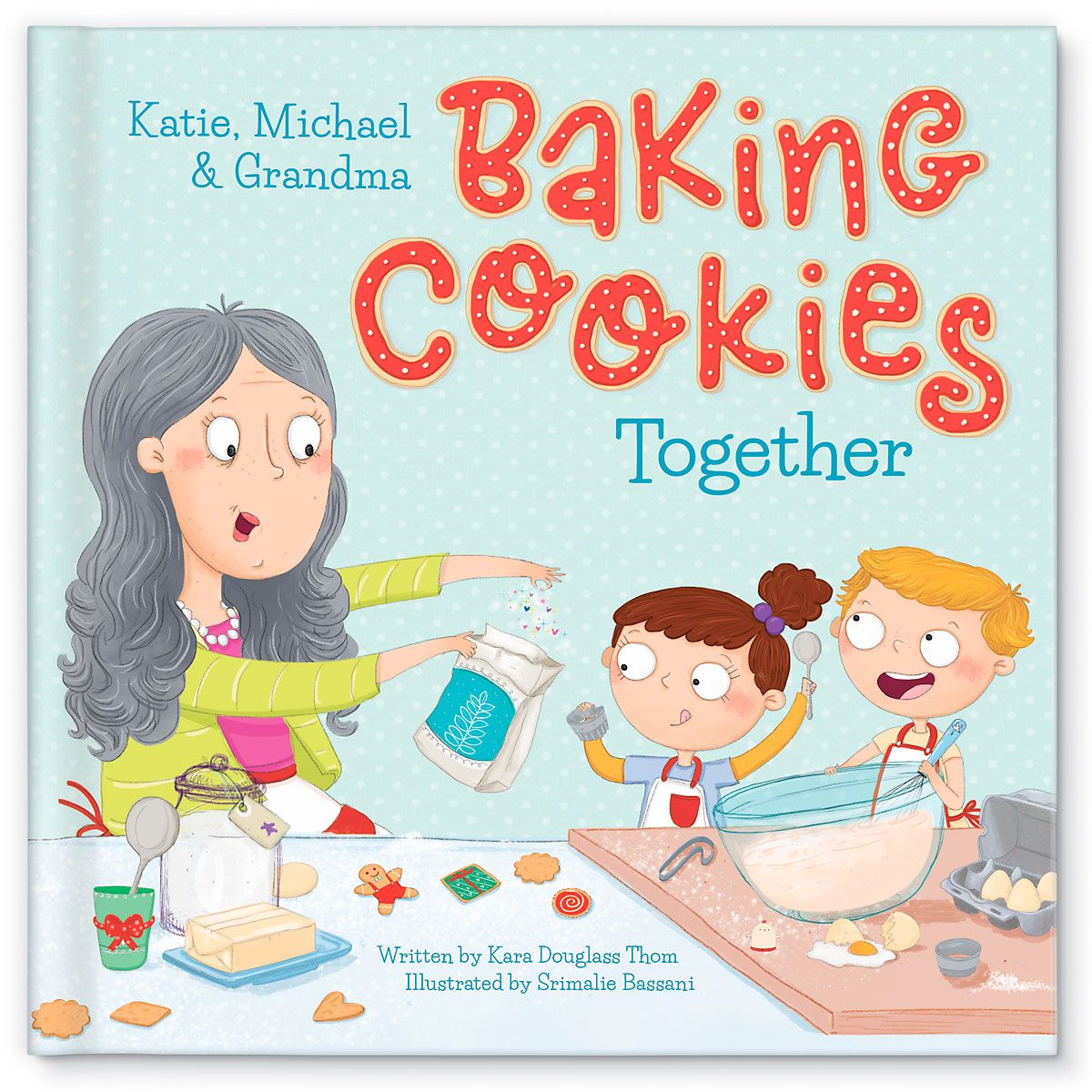 Baking Cookies Book