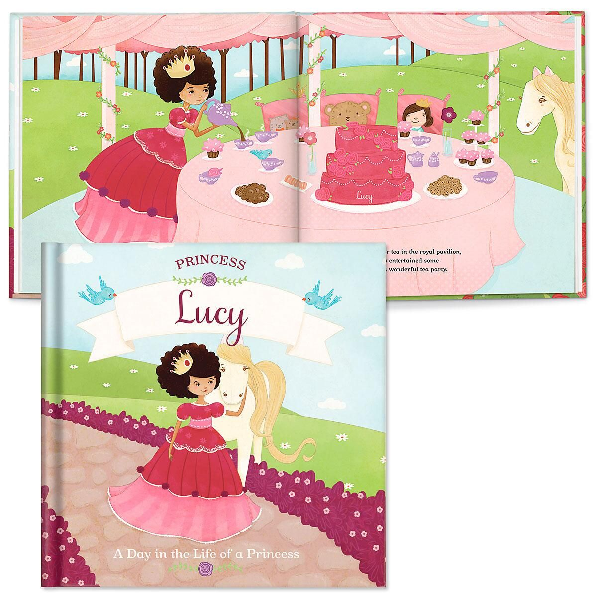 A Day in the Life of A Princess Personalized Storybook
