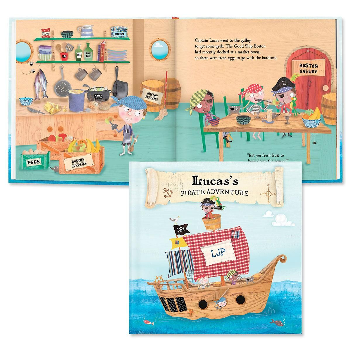 My Pirate Adventures Personalized Storybook