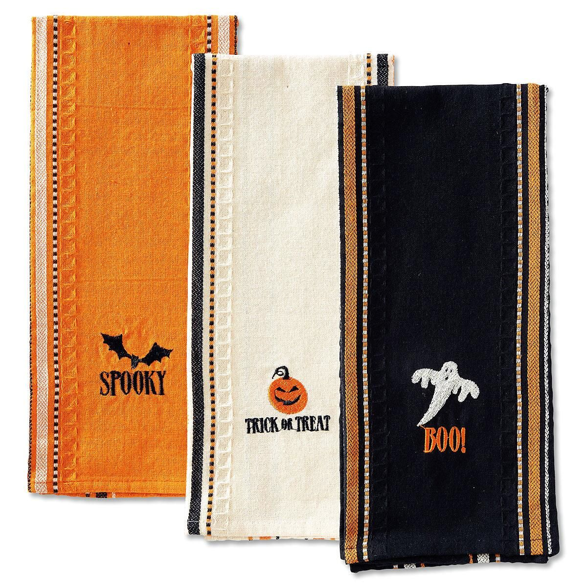 Halloween Kitchen Towel Set