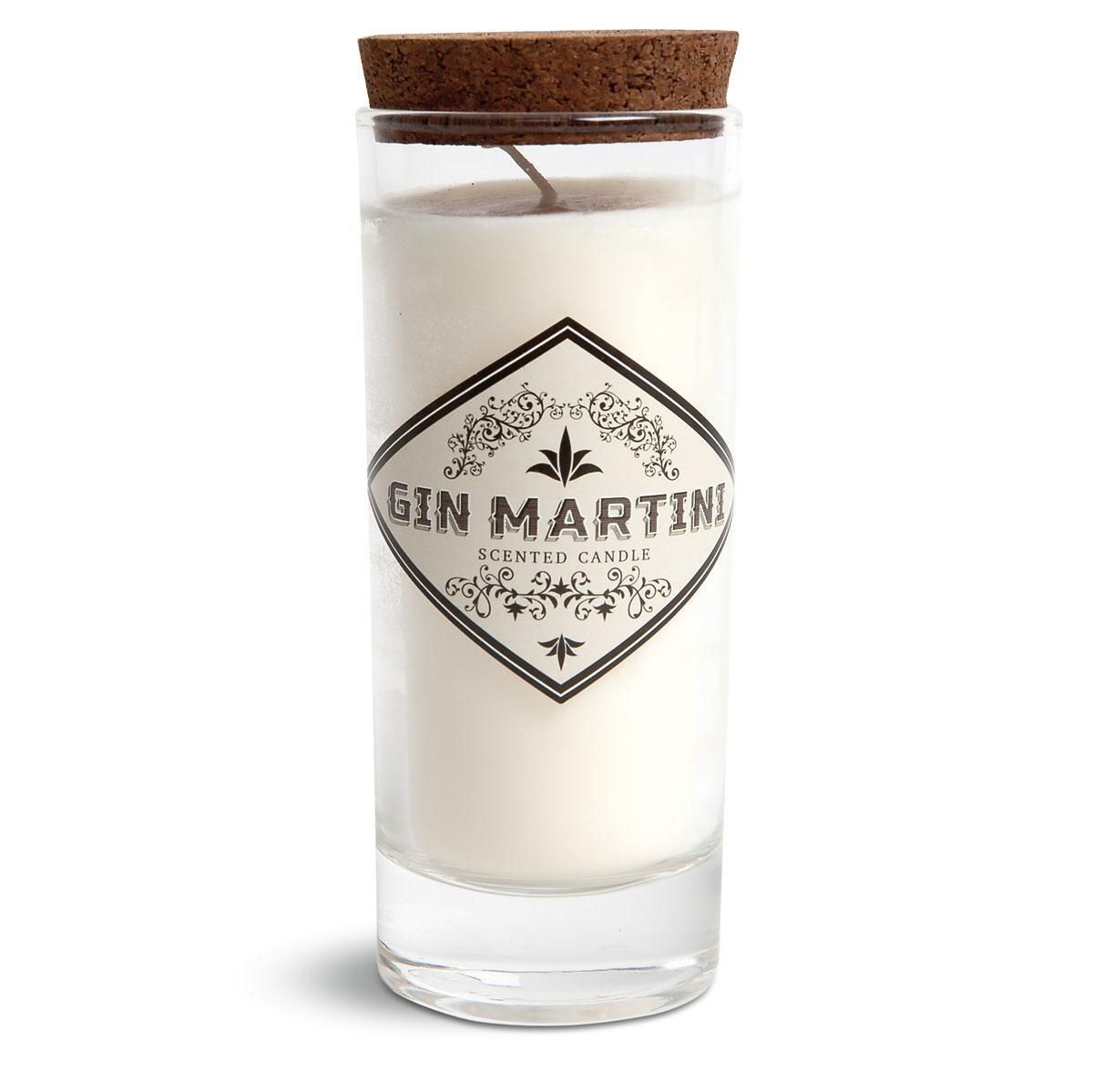 Gin Martini Cocktail Lounge Candle