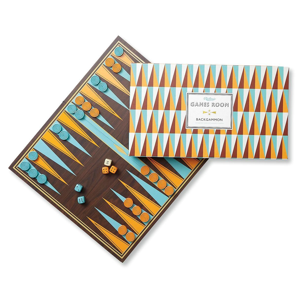 Backgammon Set by Wild & Wolf