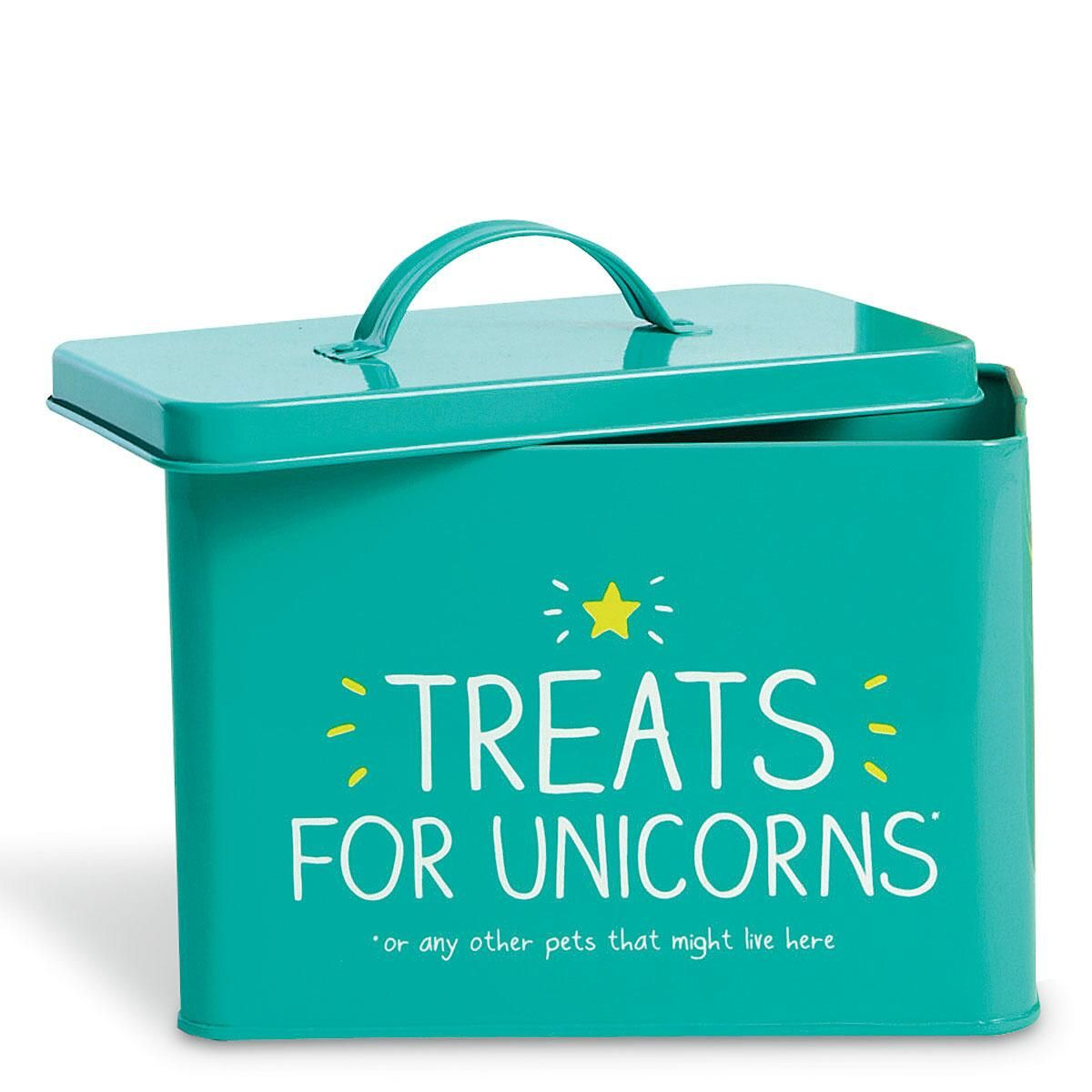 Unicorn Treats Dog Food Tin by Wild & Wolf