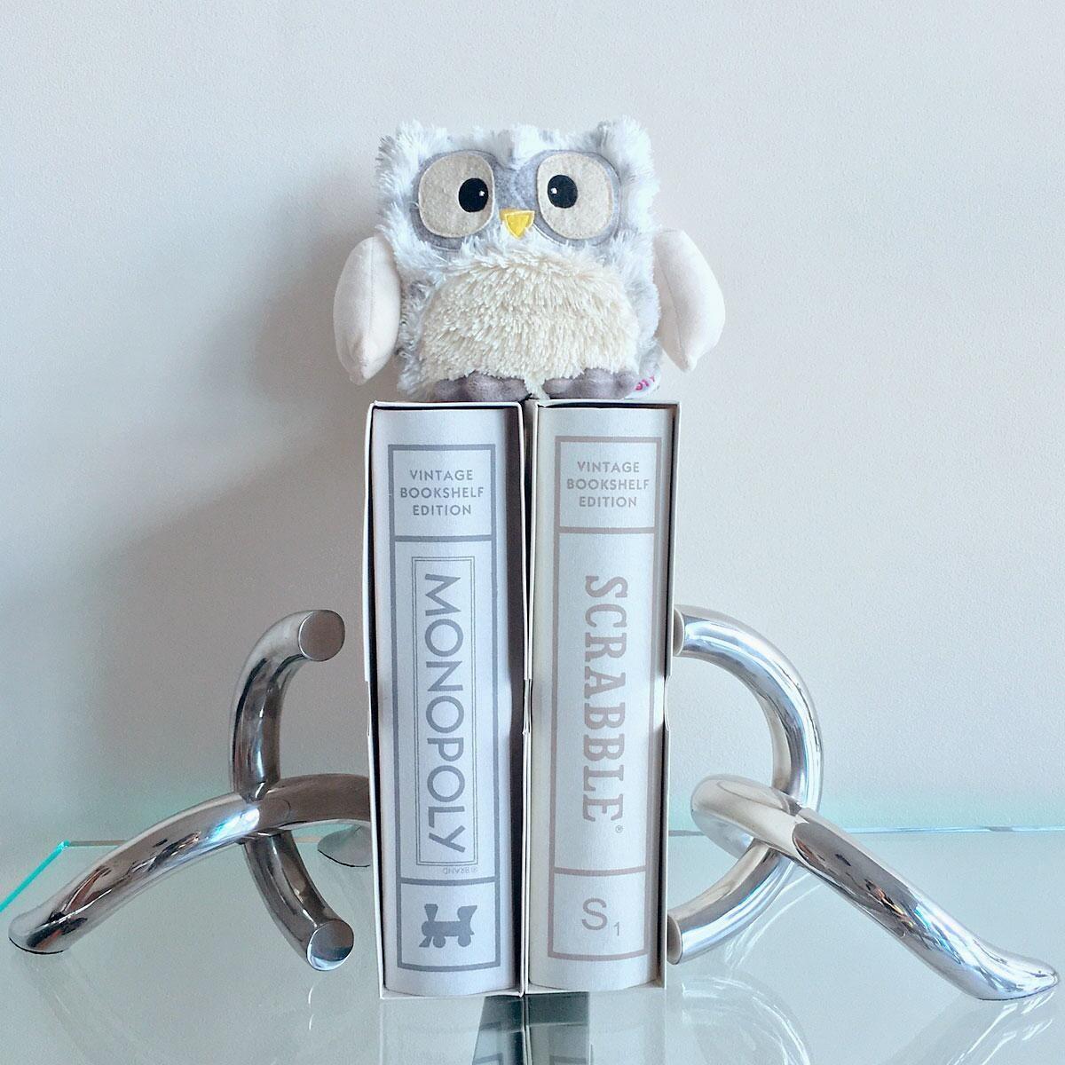 Snowy Owl Hooty Heatable