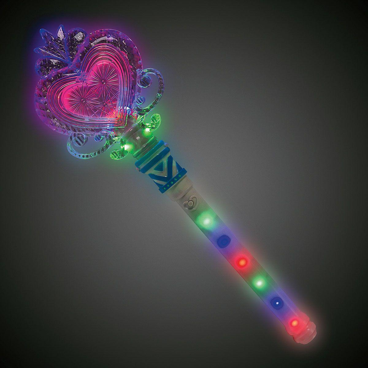 Princess Heart LED Wand