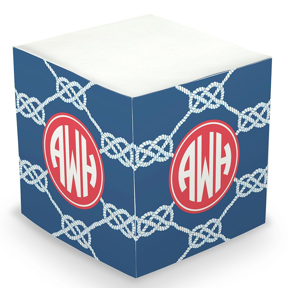 Knot Sticky Memo Cube