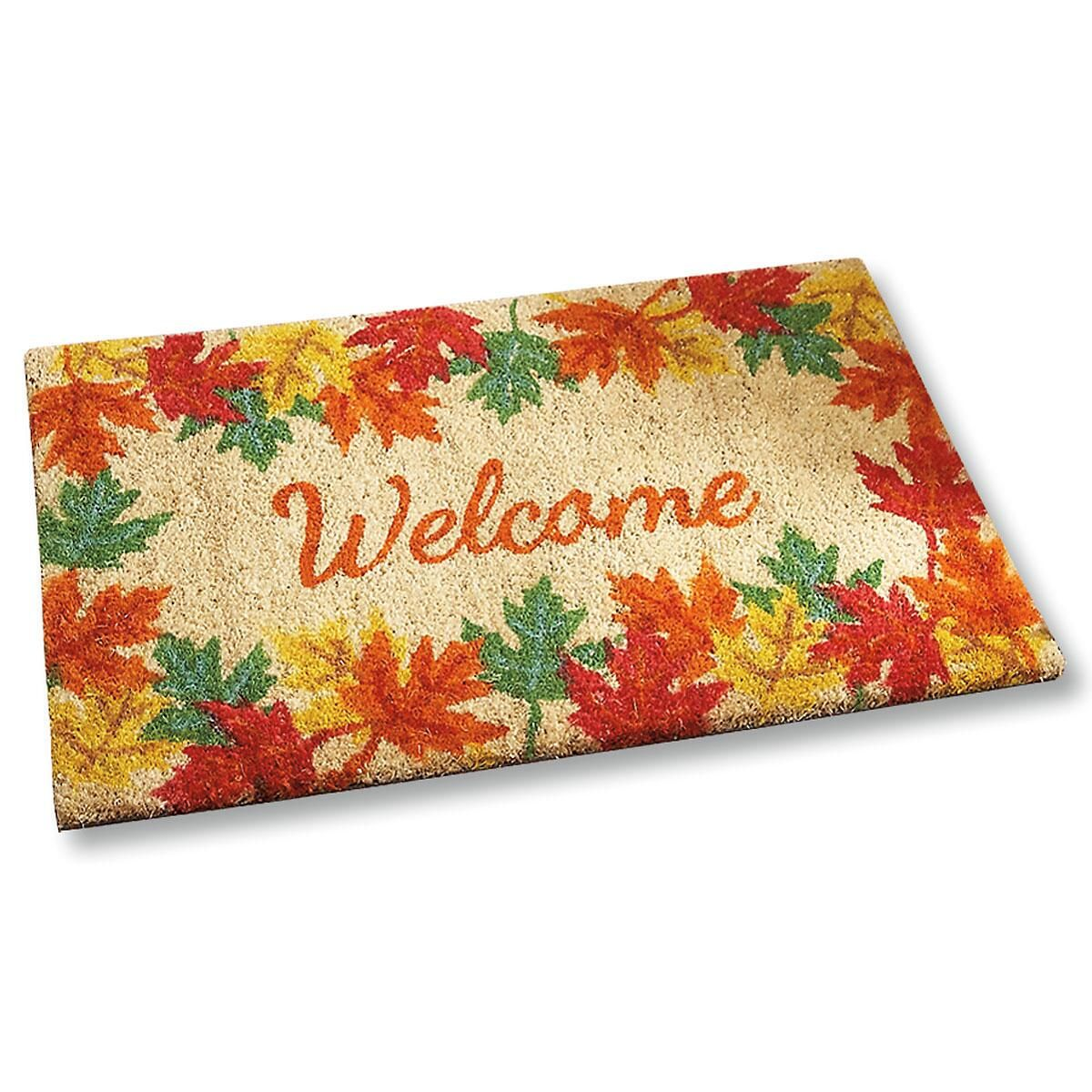 Welcome Autumn Coir Doormat