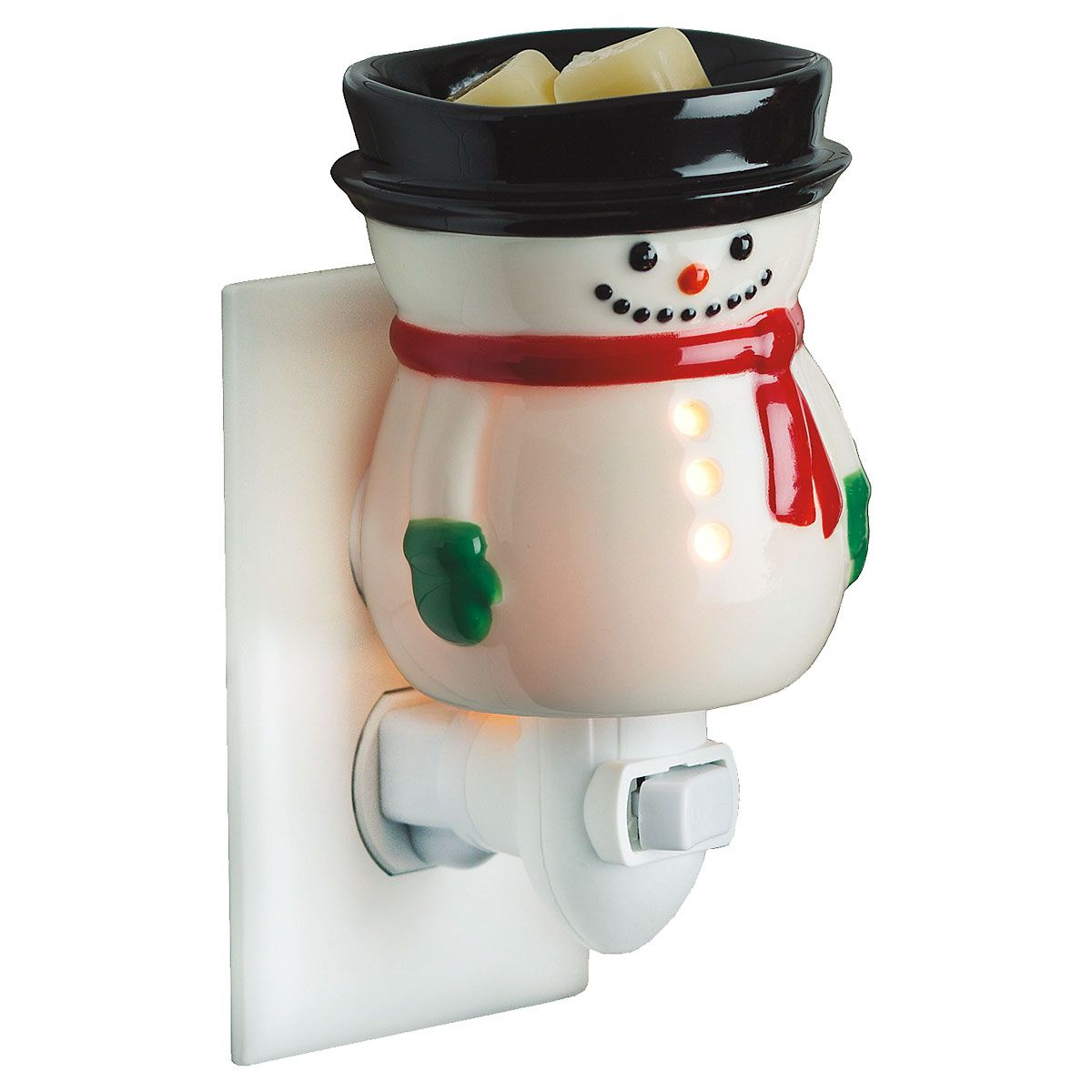 Snowman Night Light Fragrance Warmer