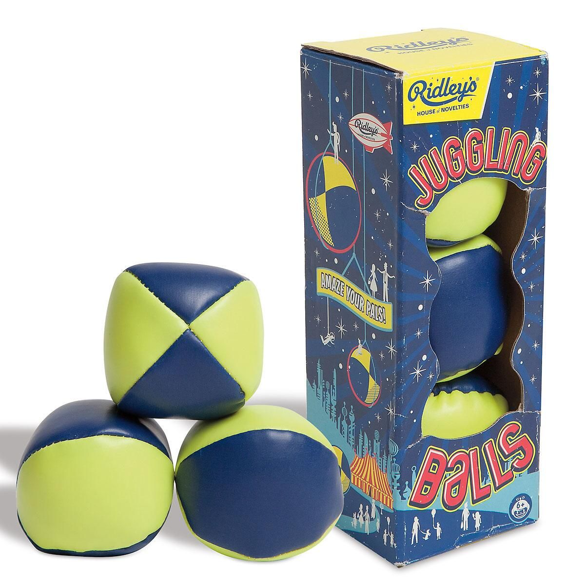 Ridley's® Utopia Neon Juggling Balls by Wild & Wolf