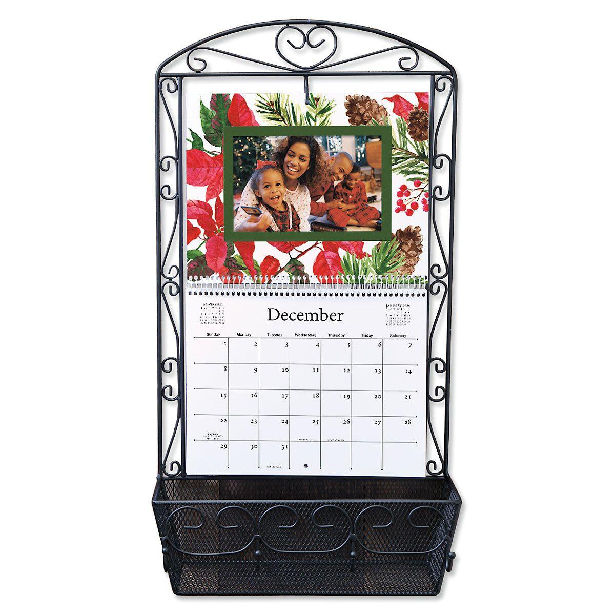 Wire Calendar Holder