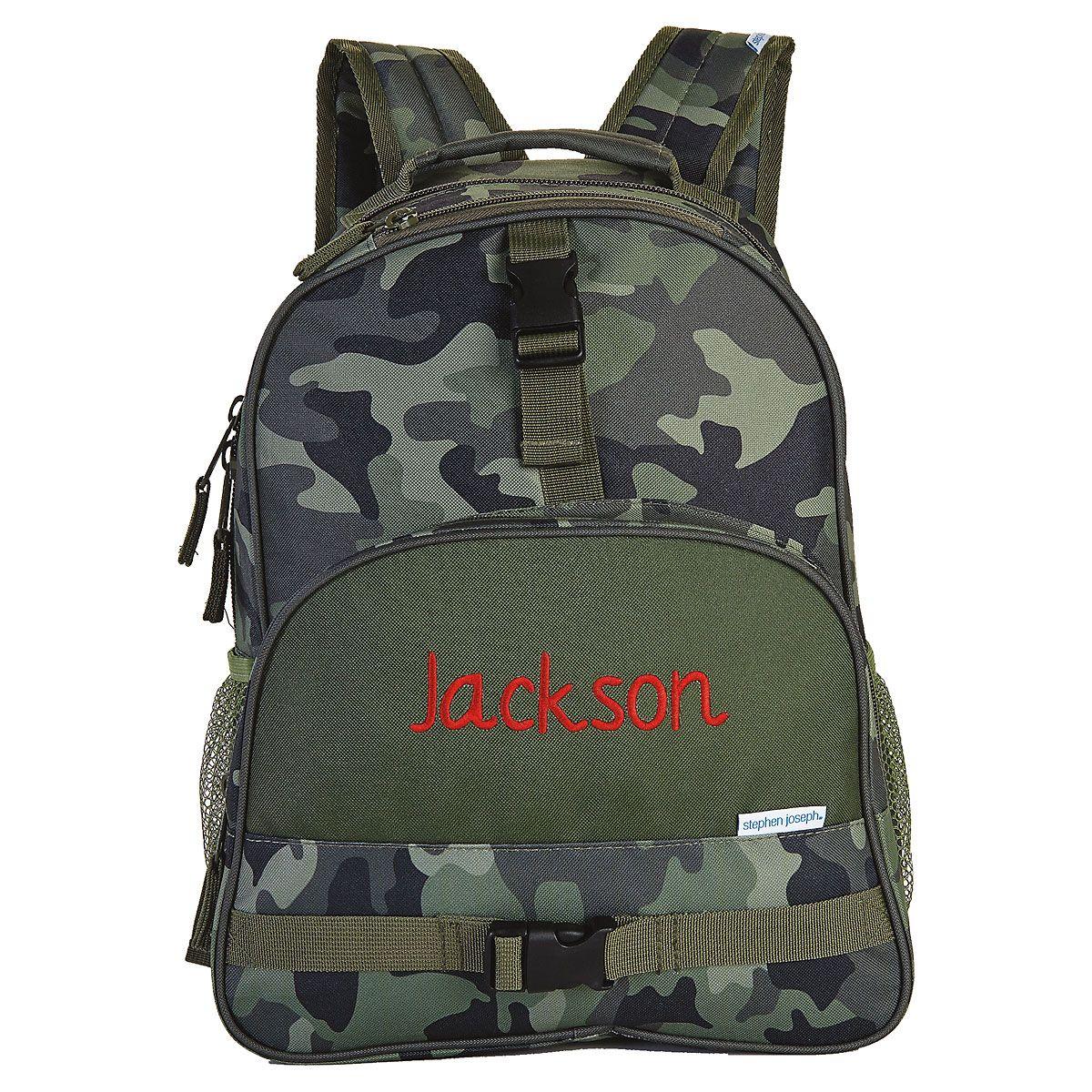 Camo Backpack by Stephen Joseph®