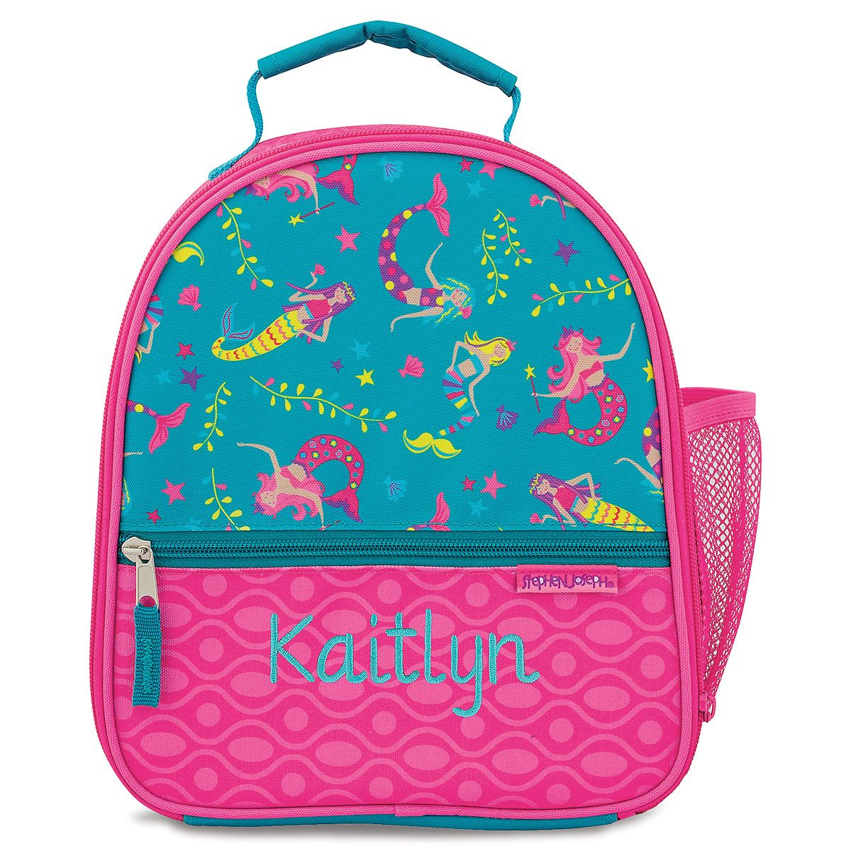 Personalized Mermaid Lunch Bag by Stephen Joseph®