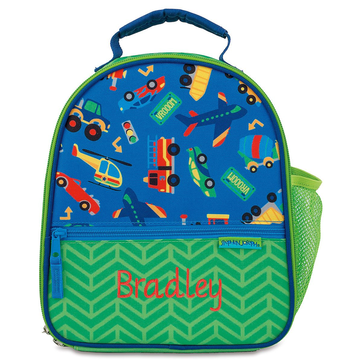 Personalized Transportation Lunch Bag by Stephen Joseph®