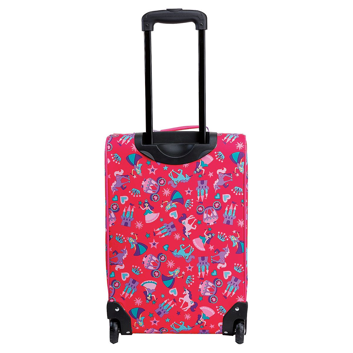 """All-Over Princess Print 22"""" Rolling Travel Luggage by Stephen Joseph®"""