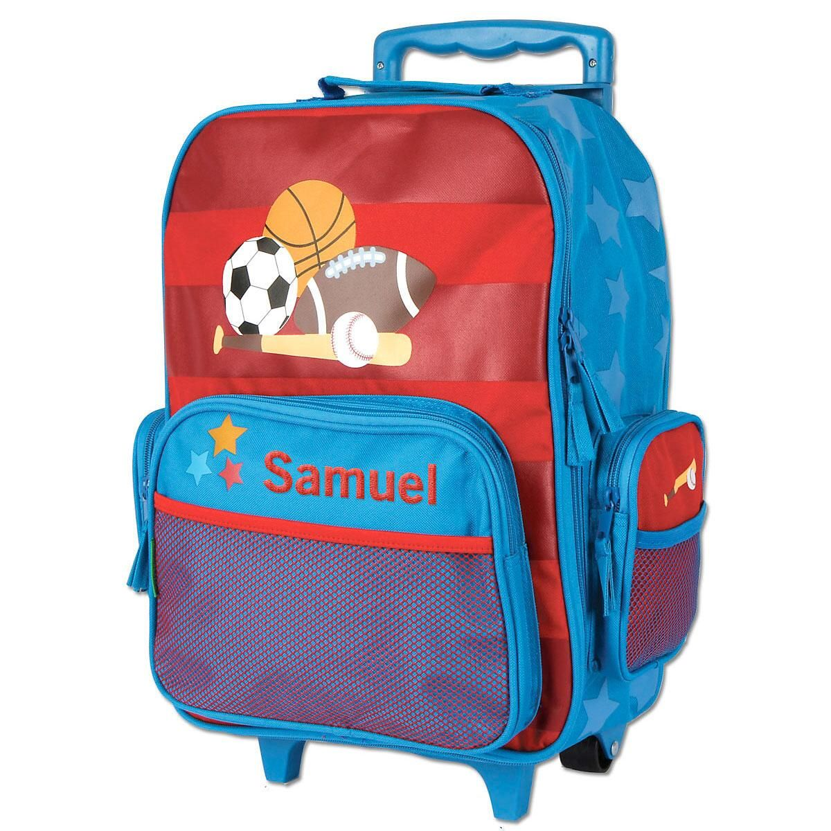 """Sports 18"""" Rolling Luggage by Stephen Joseph®"""