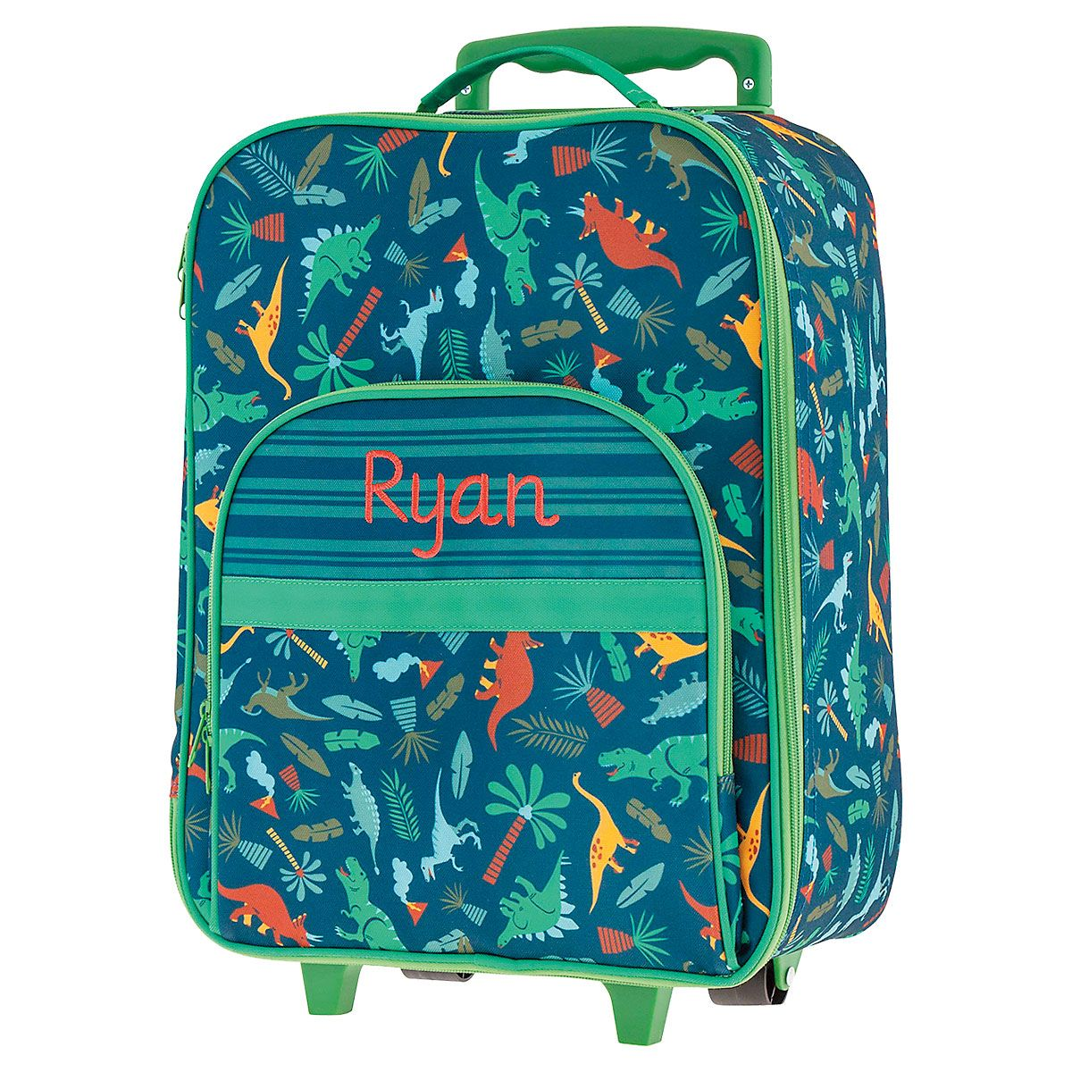 "All-Over Dino 18"" Rolling Luggage by Stephen Joseph®"