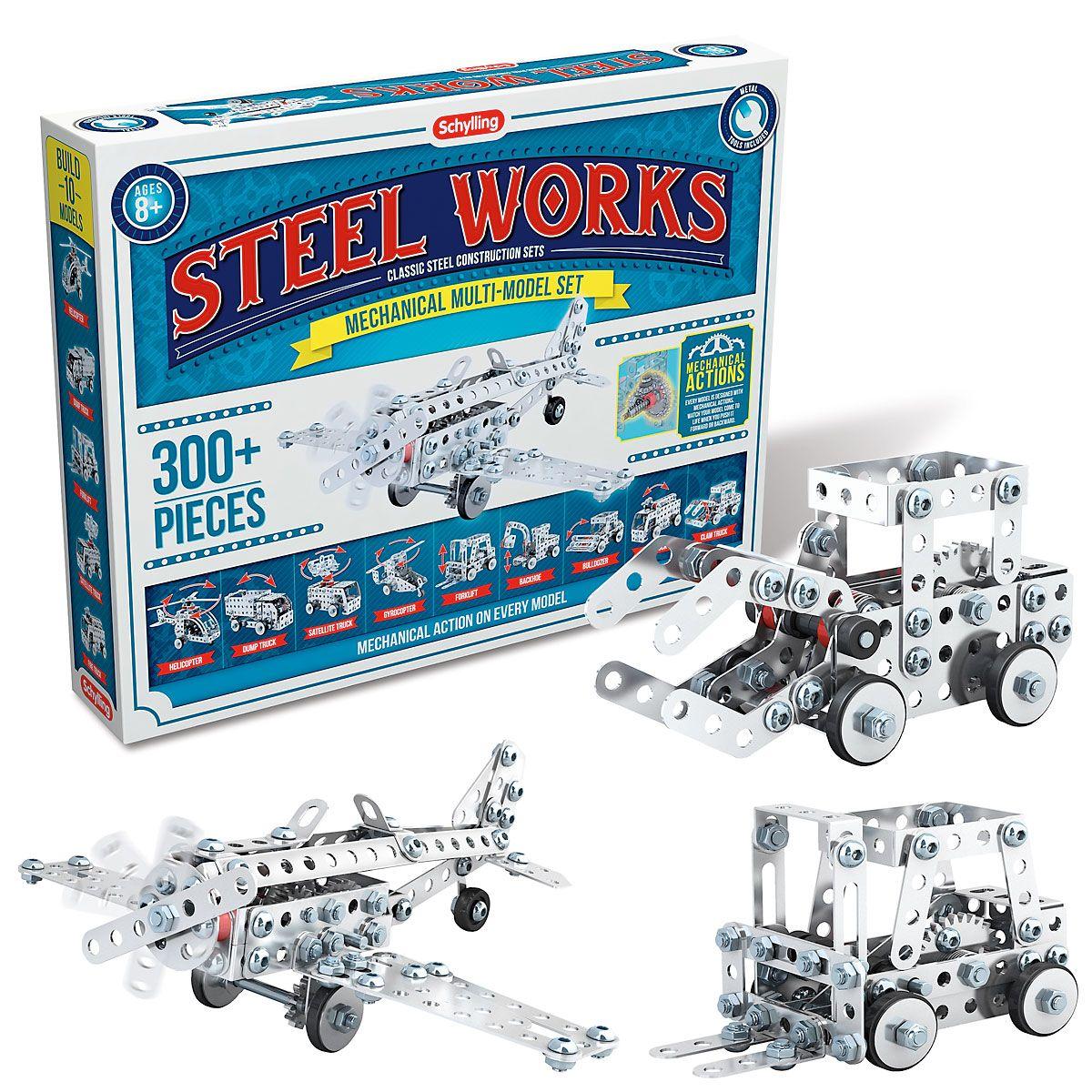 Steel Works Model Set by Schylling
