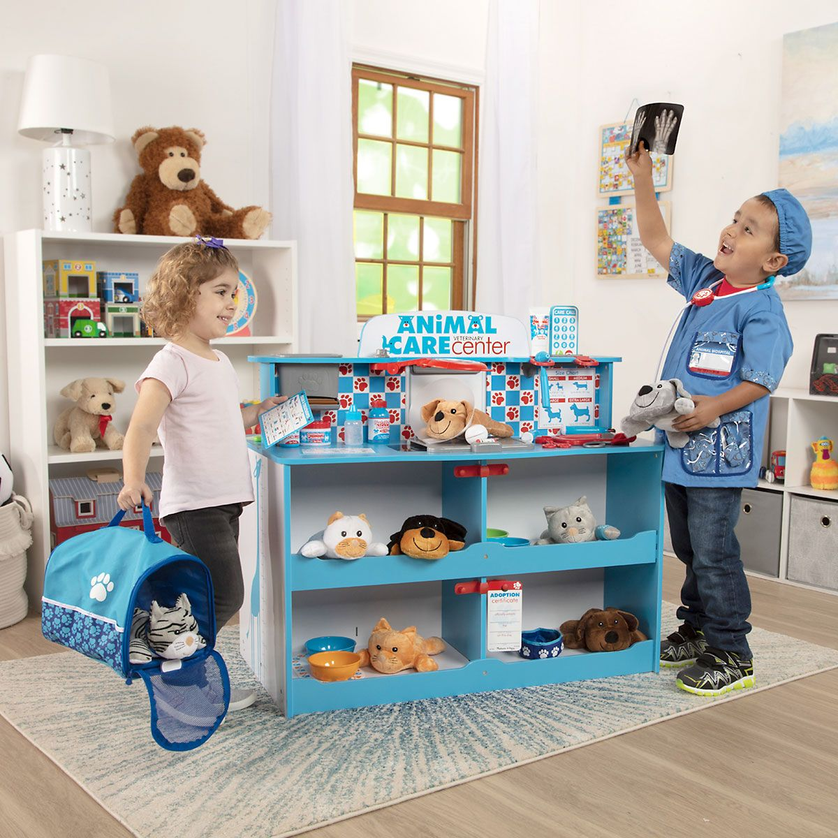 Stuffed Animal Care Activity Center by Melissa & Doug®