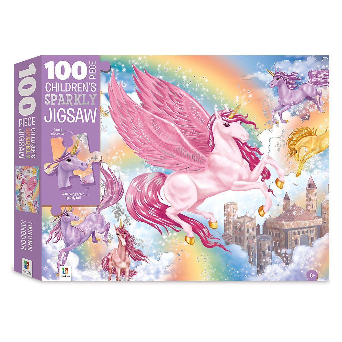 Unicorn Kingdom 100-Piece Puzzle