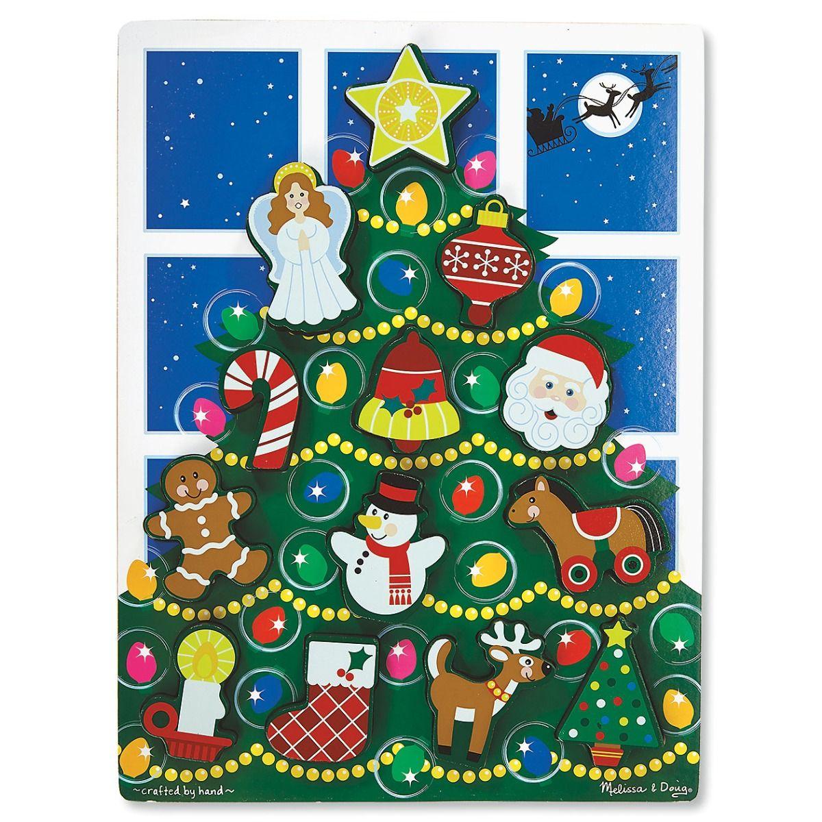 Holiday Tree Chunky Puzzle by Melissa & Doug®