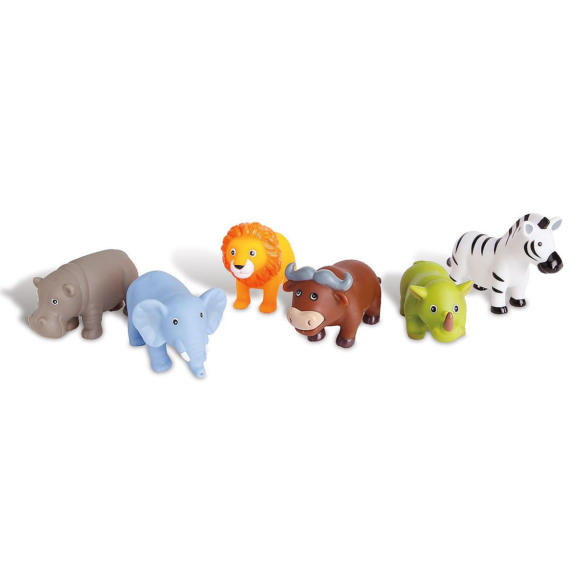 6 Elegant Jungle Party Baby Bath Squirties