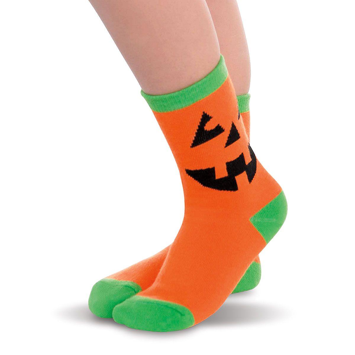 Jack-O-Lantern Children's Socks