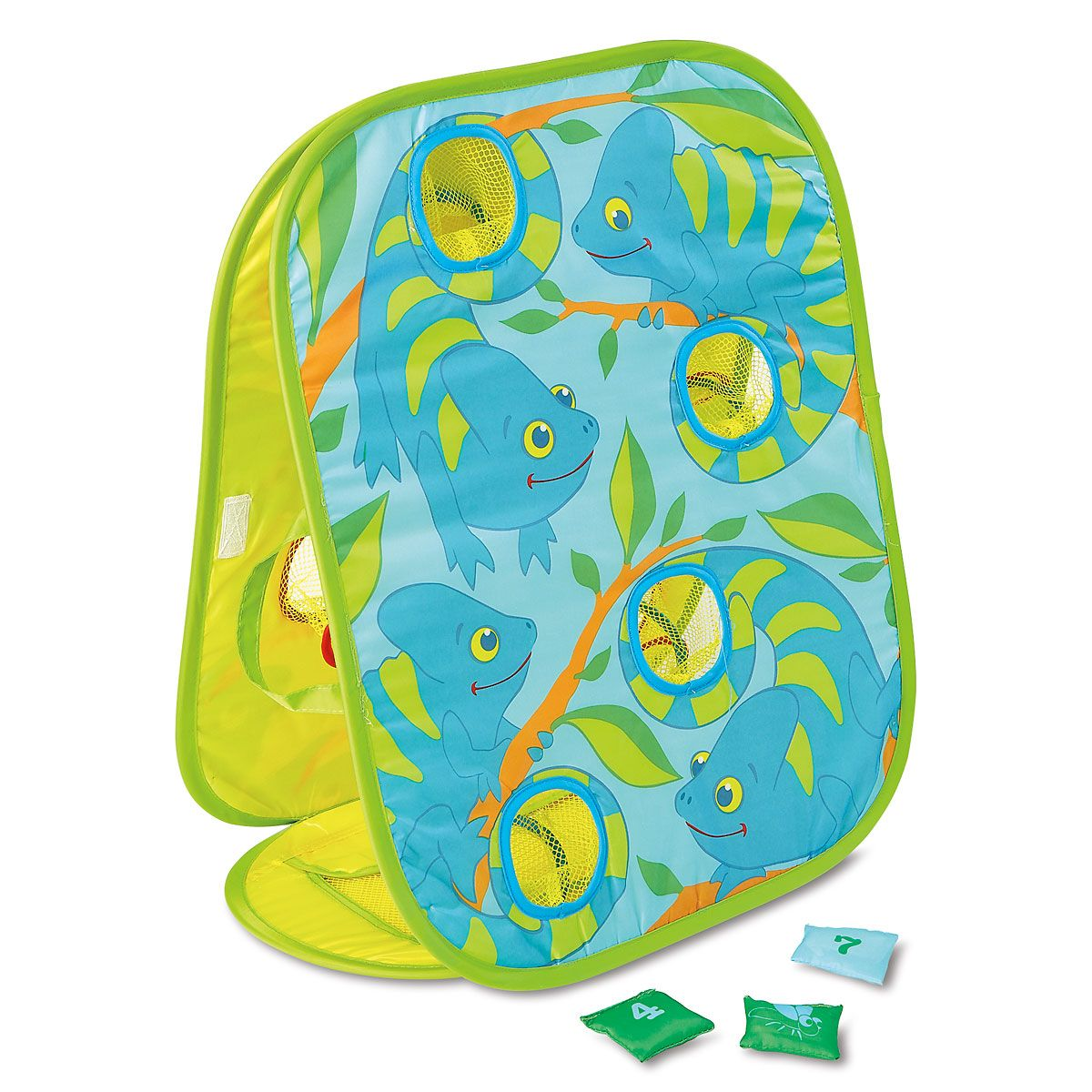 Chameleon-Design Bean Bag Toss by Melissa & Doug®
