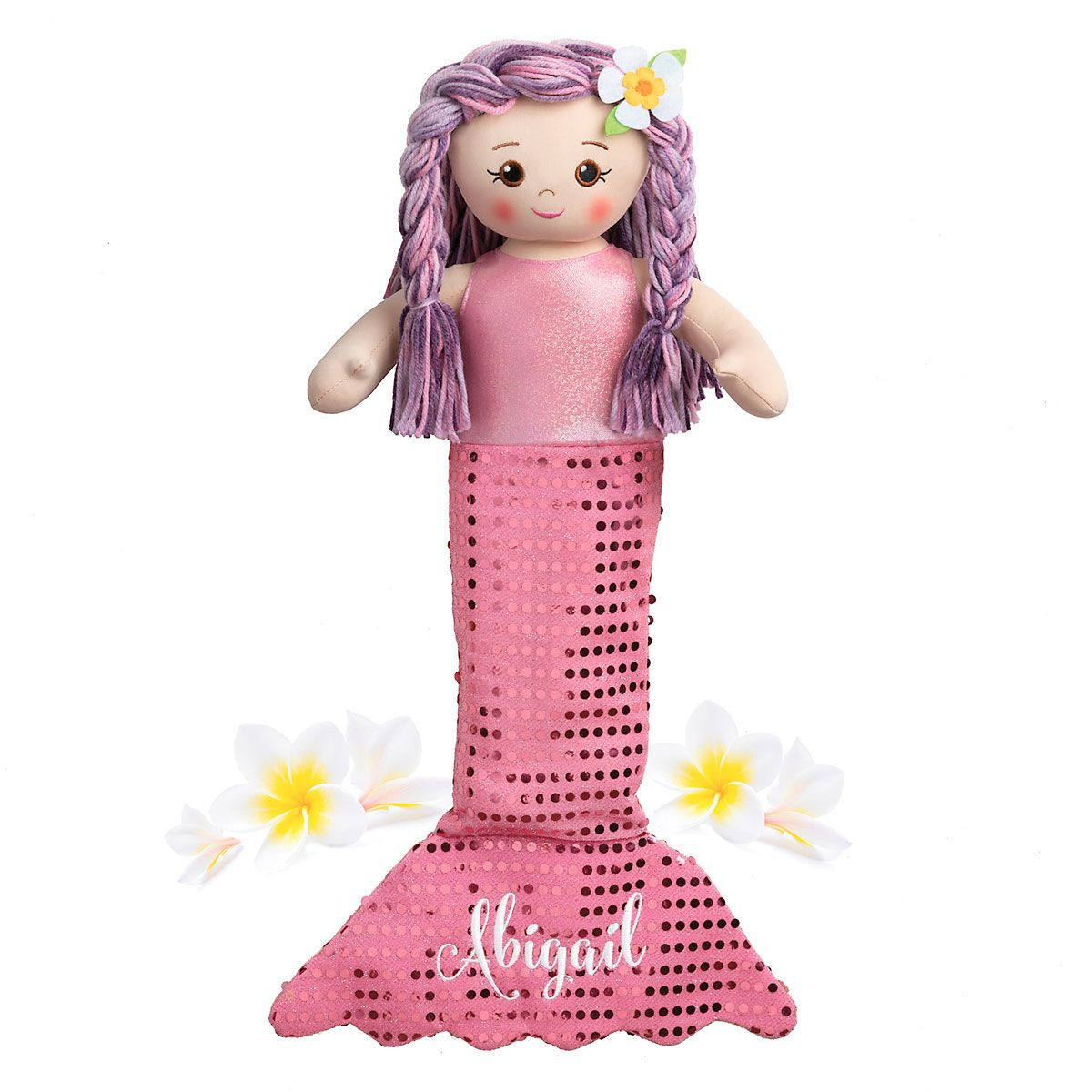 Personalized Mermaid Rag Doll