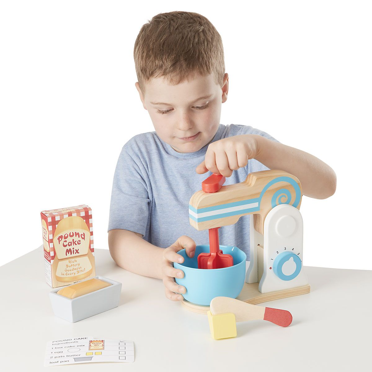 Make-A-Cake Mixer Set by Melissa & Doug®