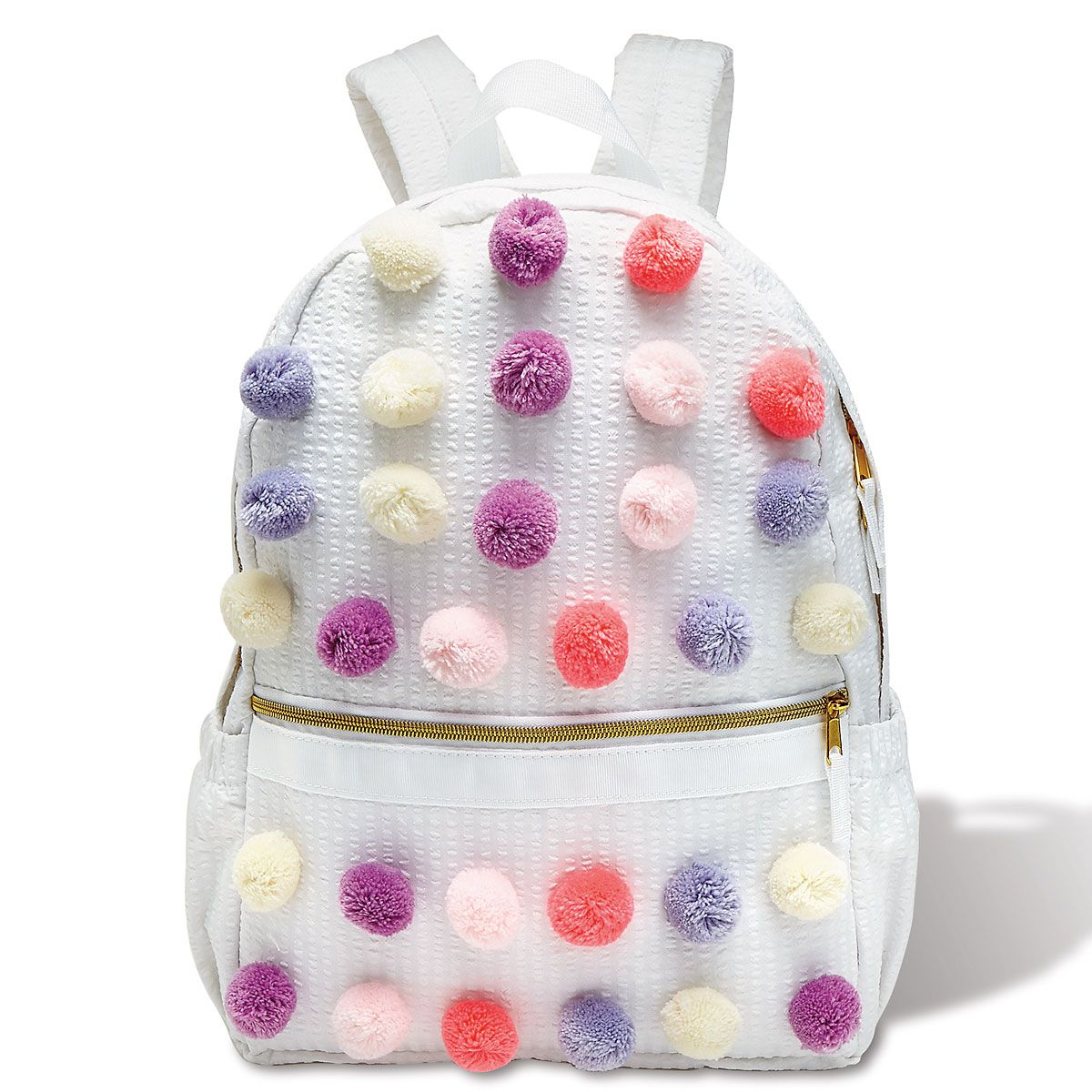 Pastel Pom Poms Backpack