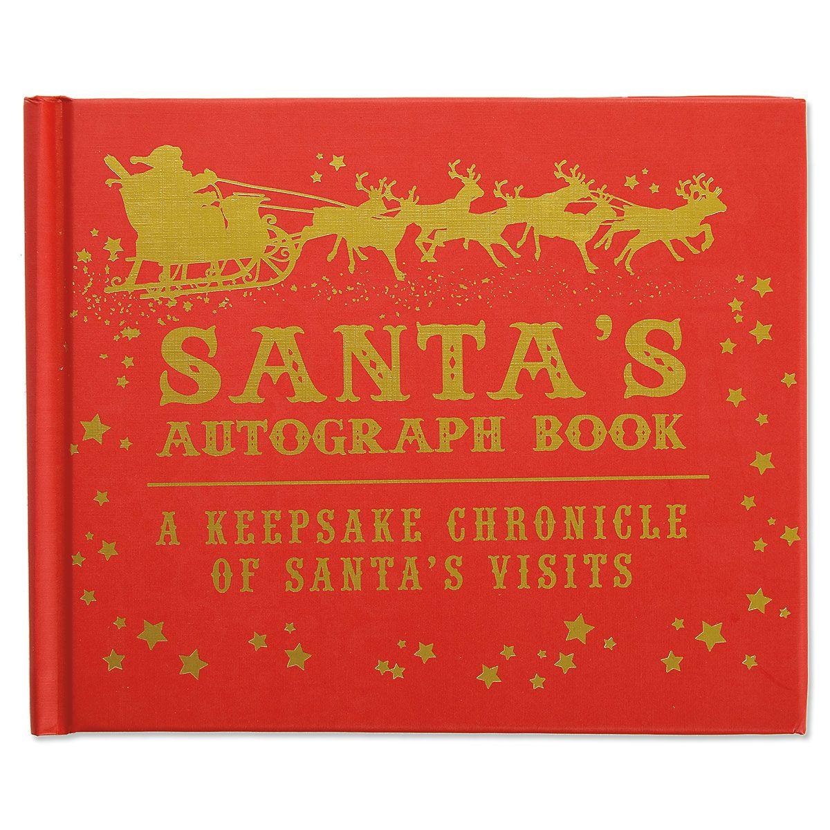 Santa's Autograph Book