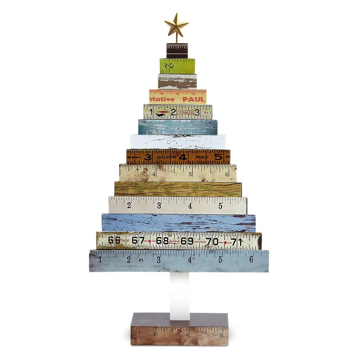 Wooden Ruler Tree