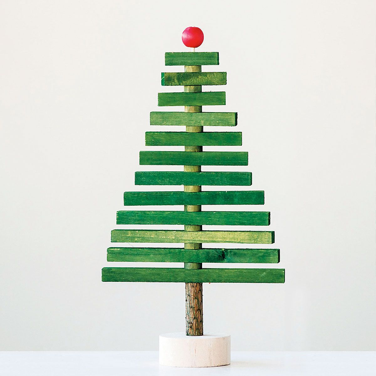 Wooden Tree with Articulated Branches